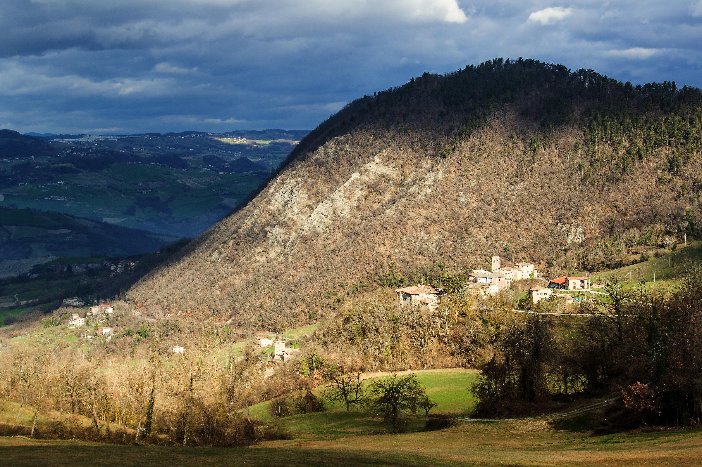 Zocca-Monte della Riva and Montalbano...