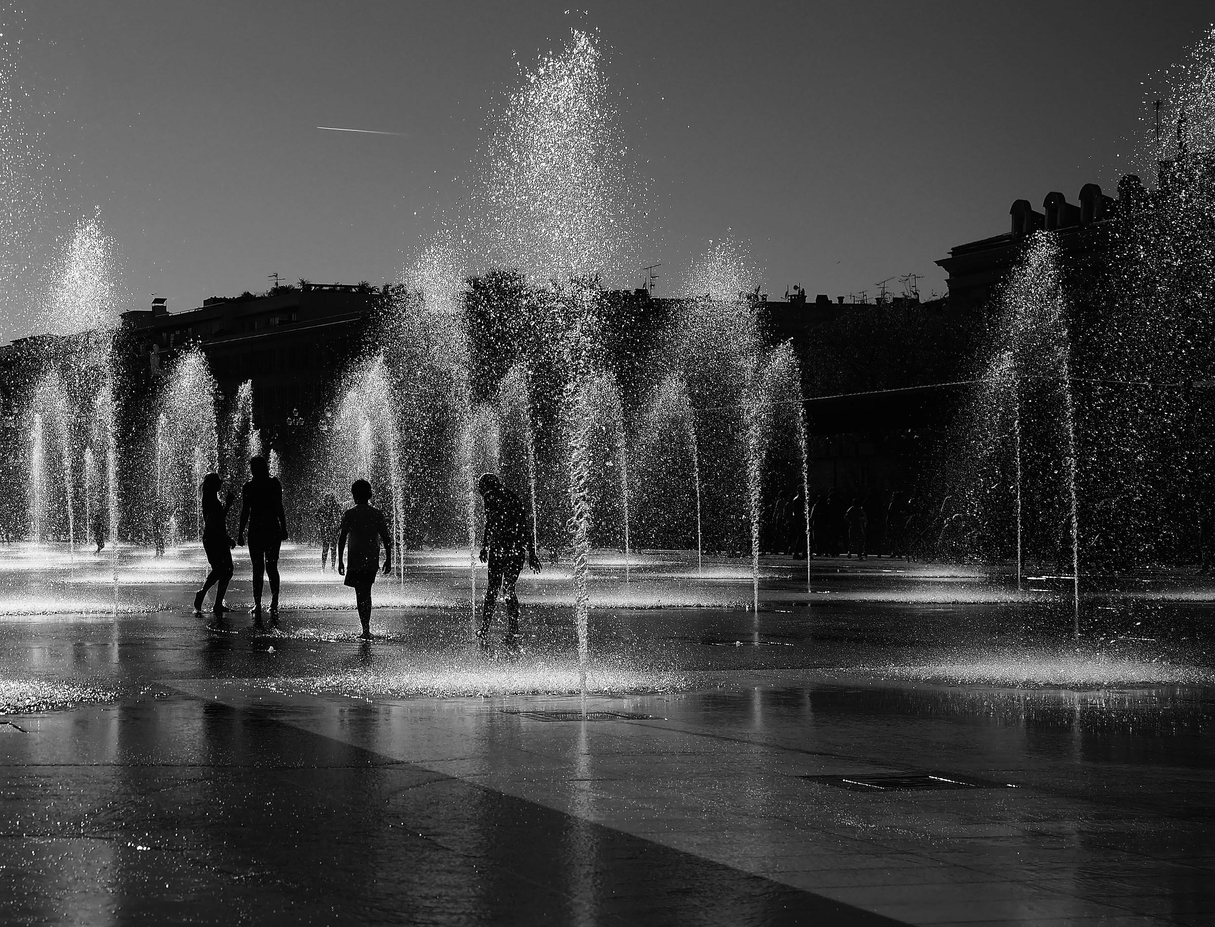 Nizza - Promenade du Paillon...