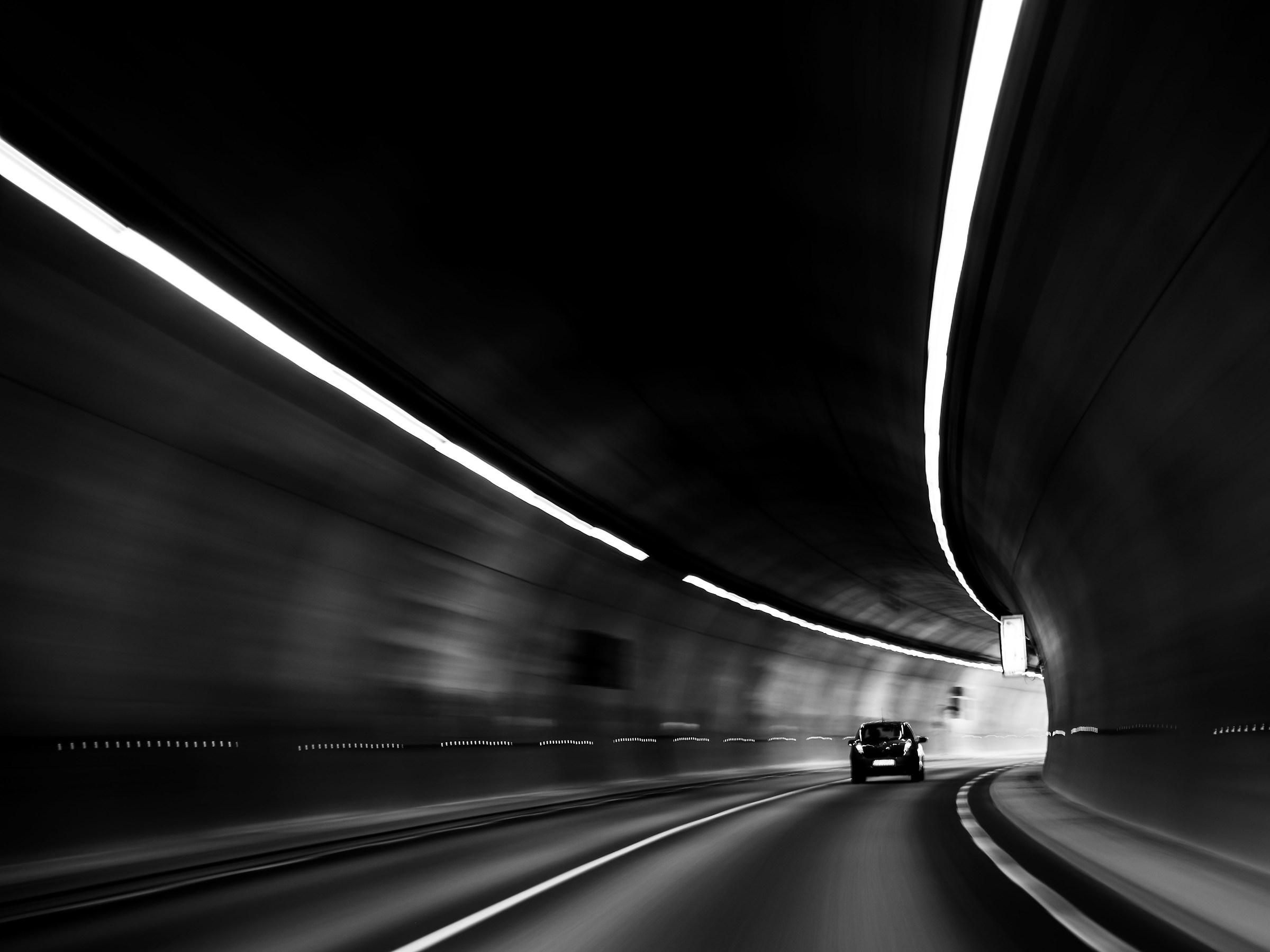 tunnel val Roja...