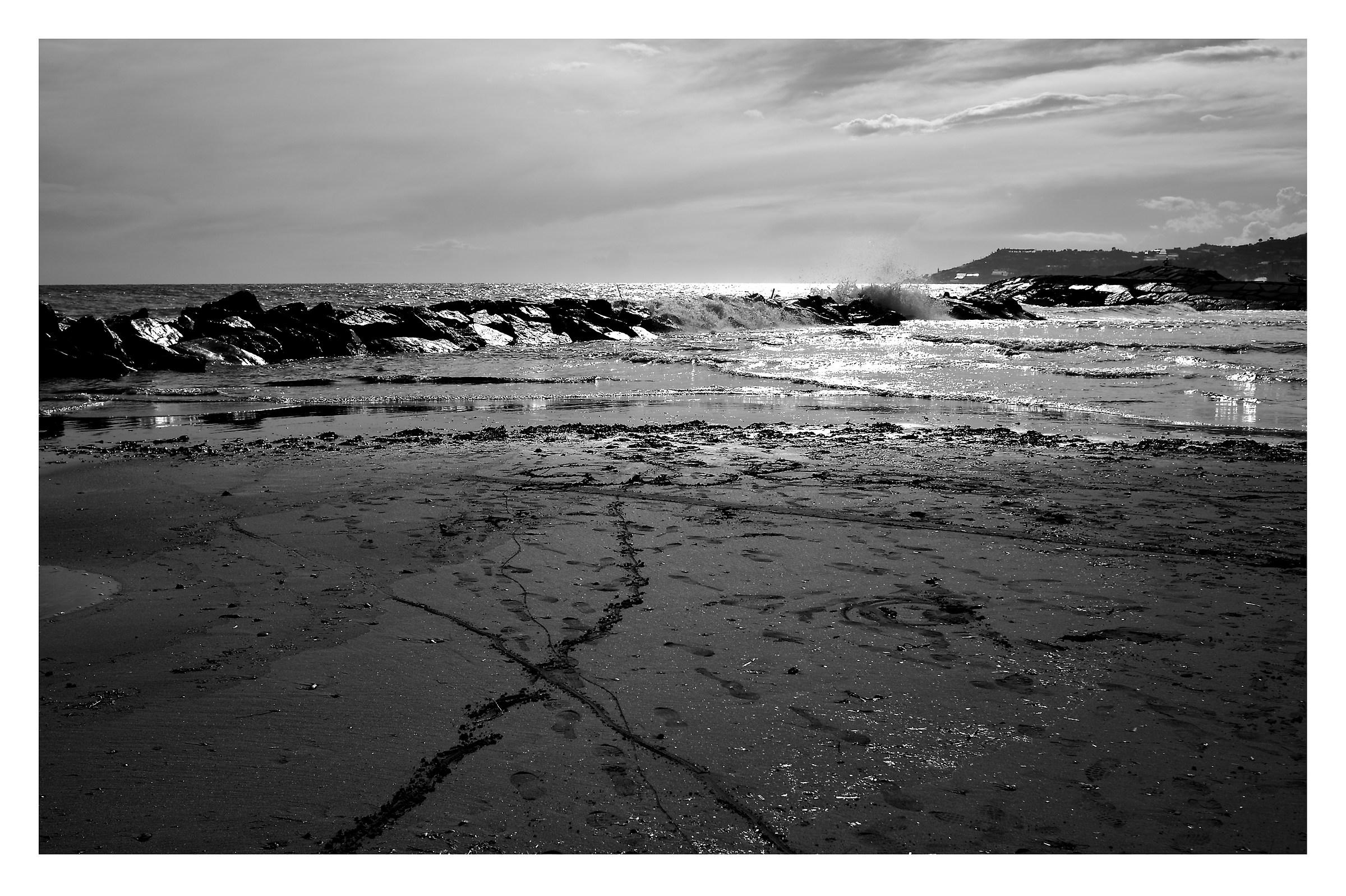 the sea in winter...