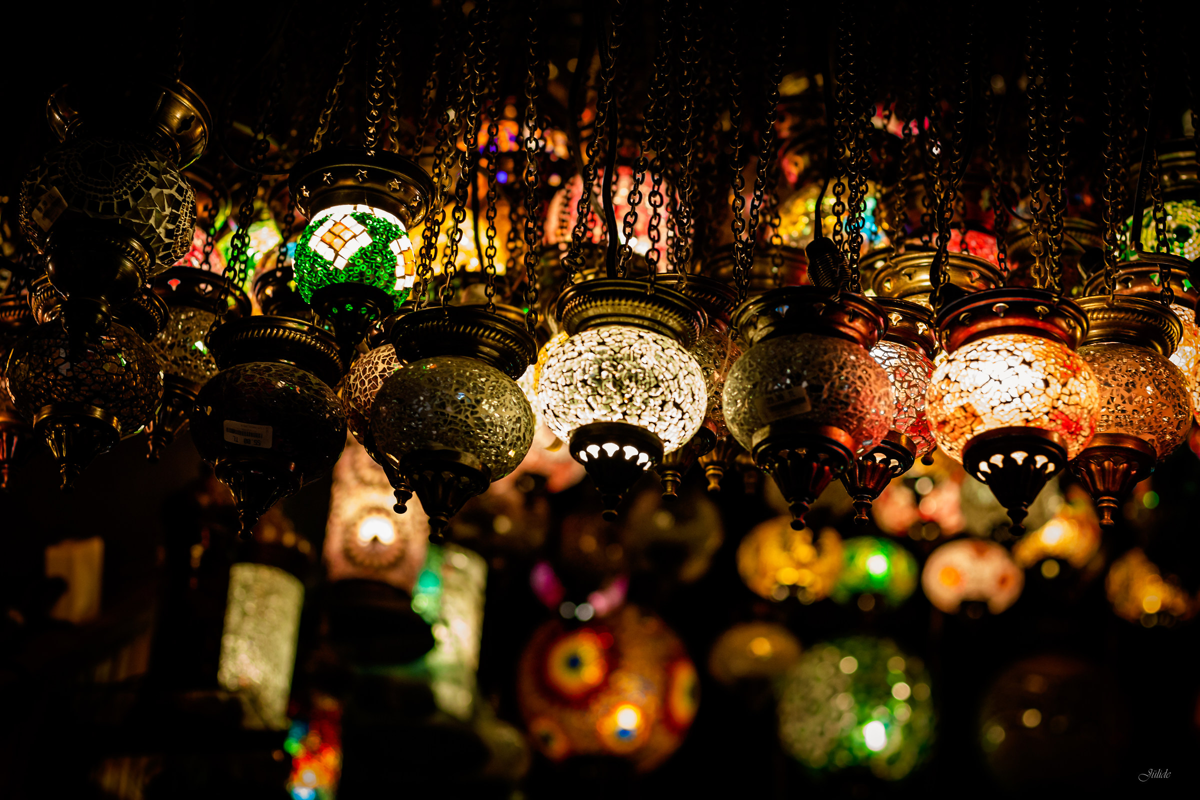 Lamps and colors...