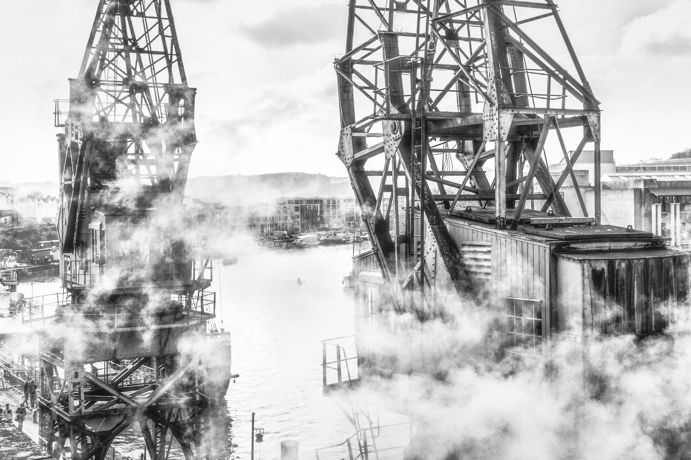 A Steamy Harbourside...