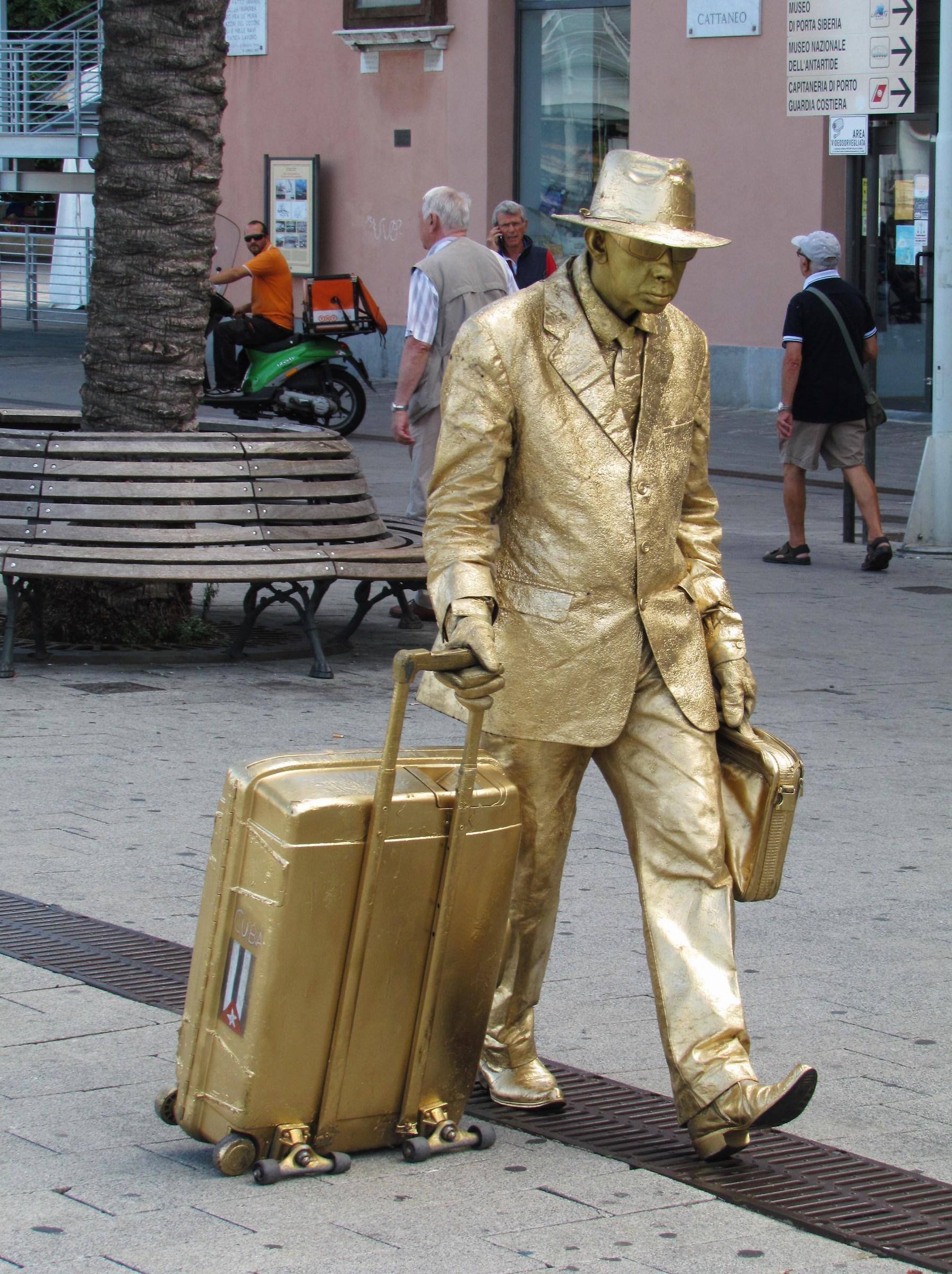 Street artist ......