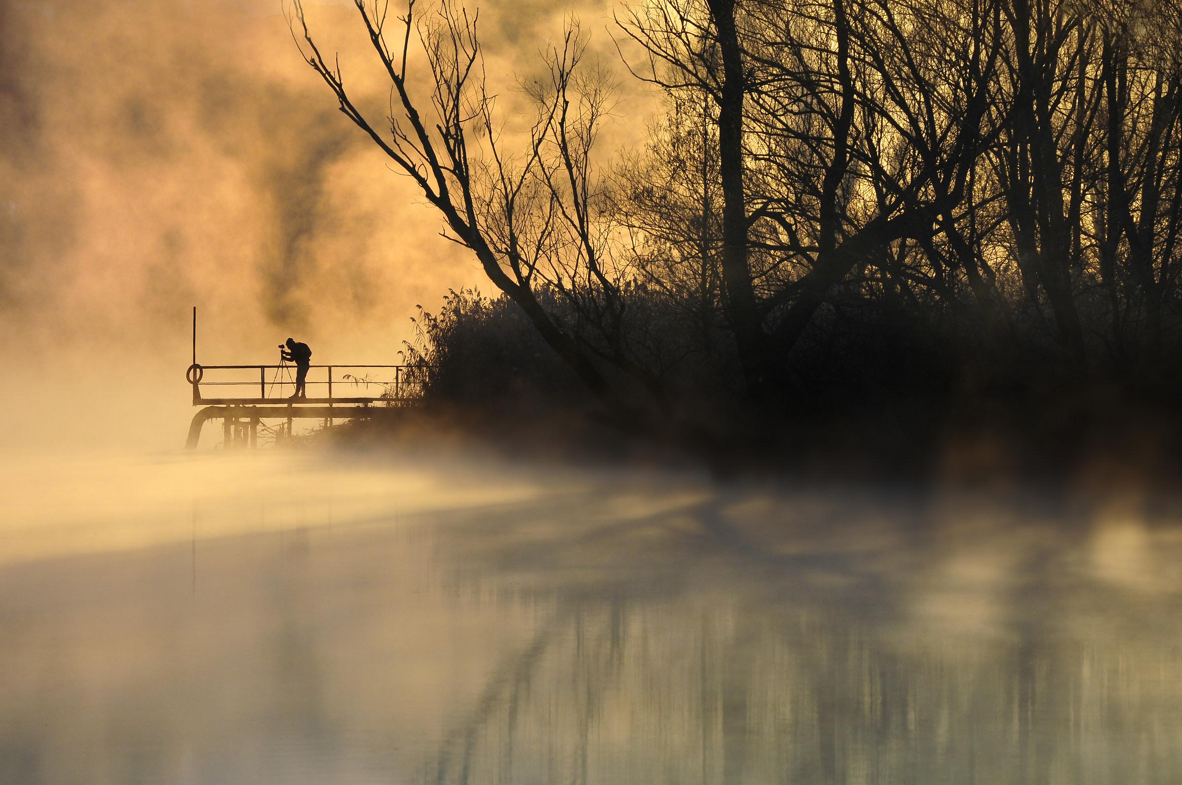 Amber dawn...