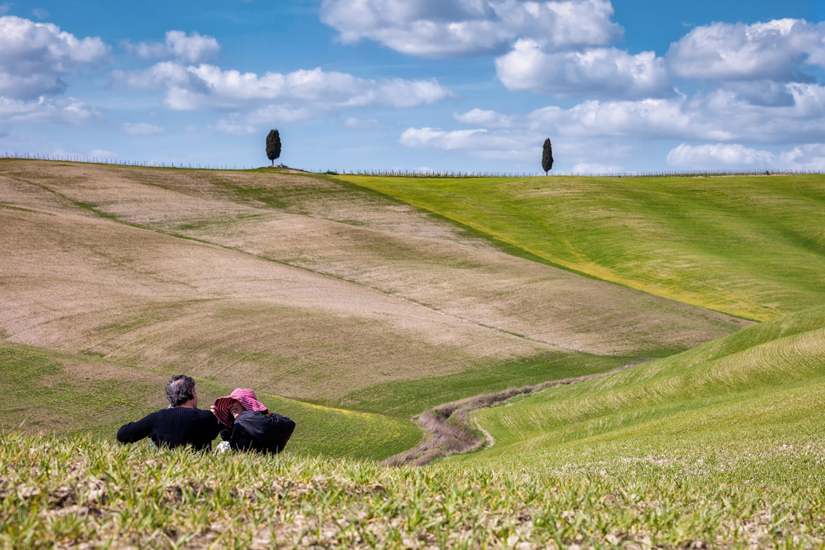 Romantically Val d'Orcia...