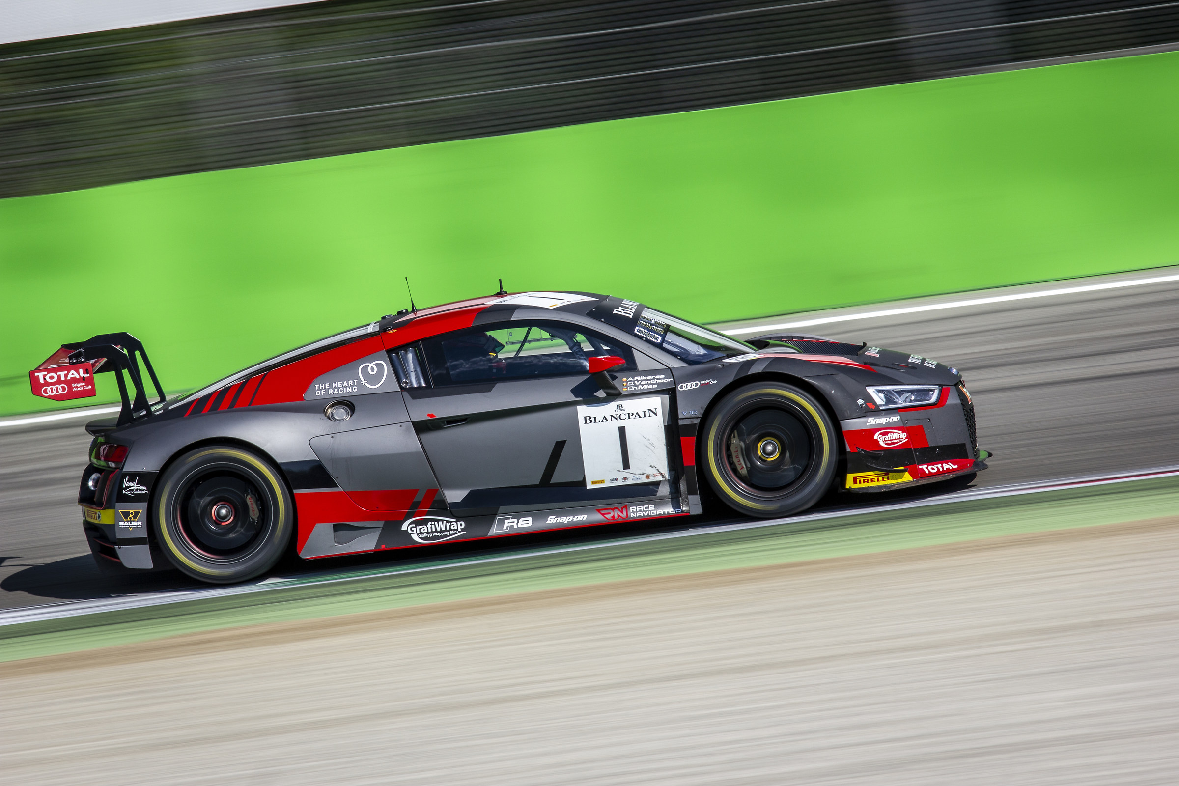 Audi R8 GT3 #1 at Ascari...