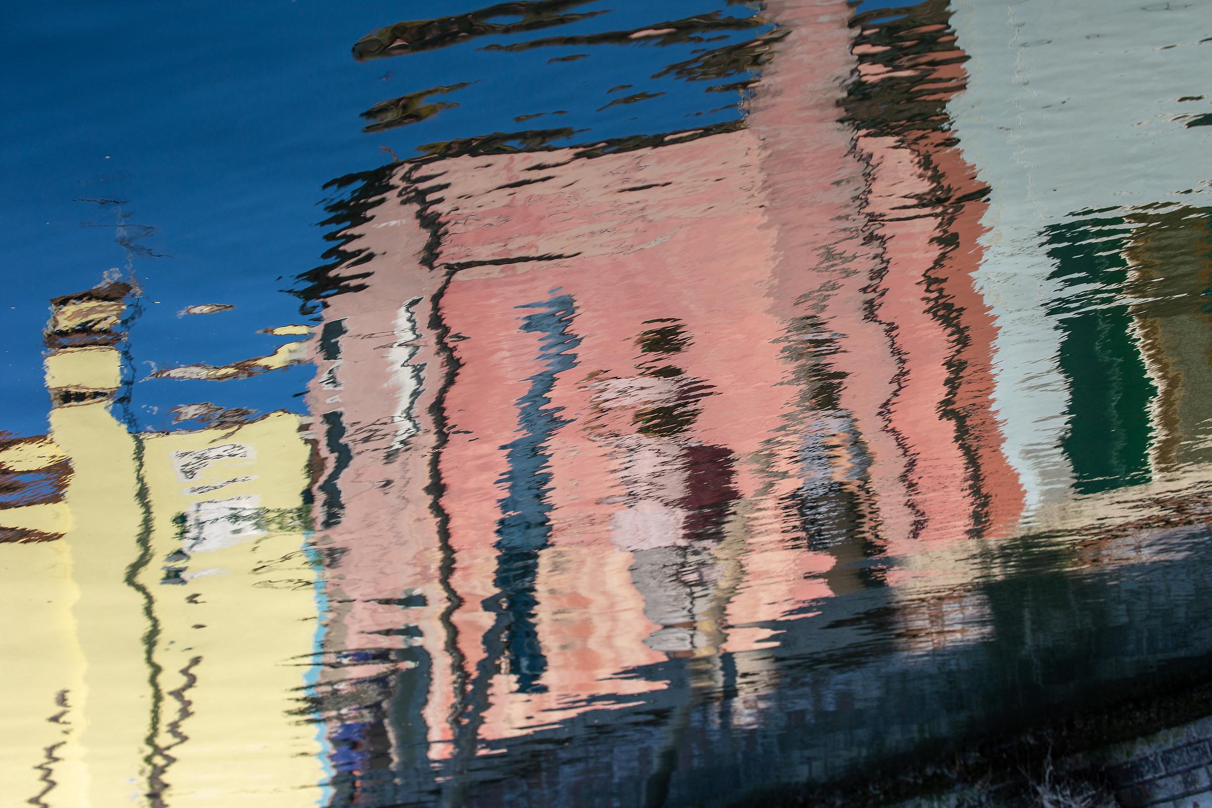 Burano reflected...