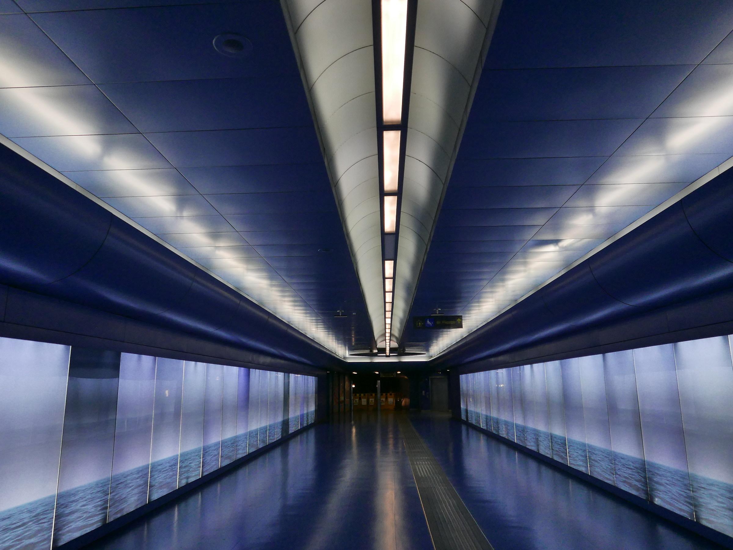 Blue Tunnel...