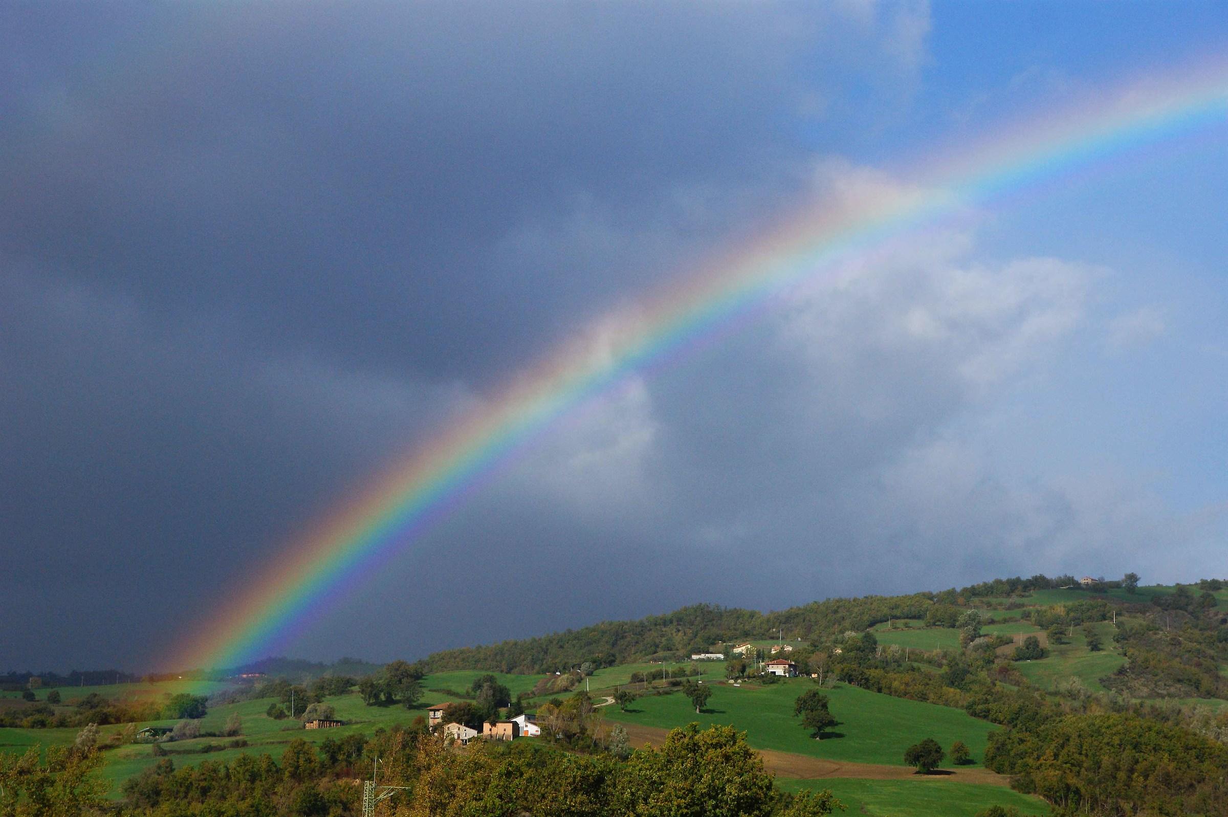 Arcobaleno nel Montefeltro...