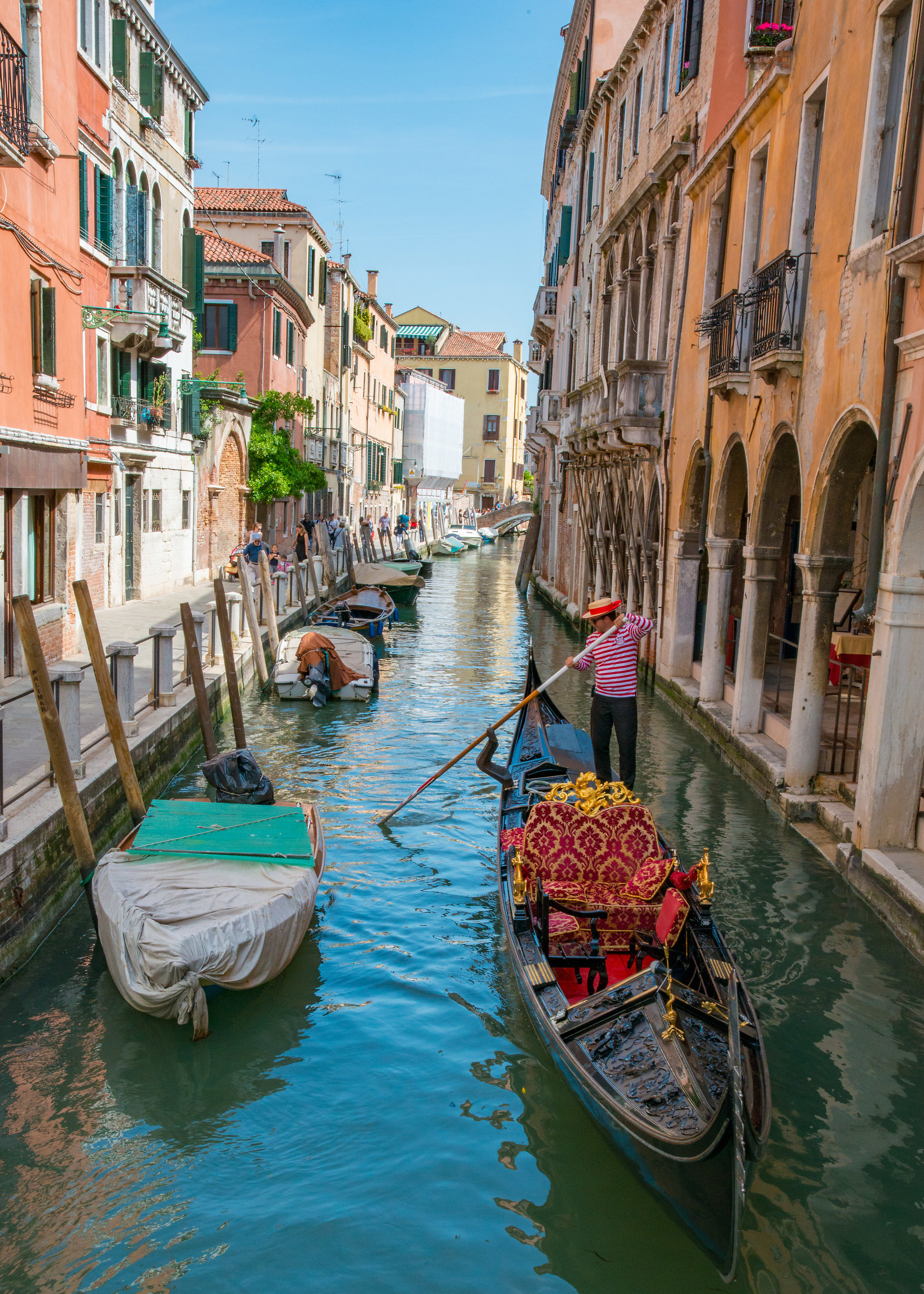 The gondolier...
