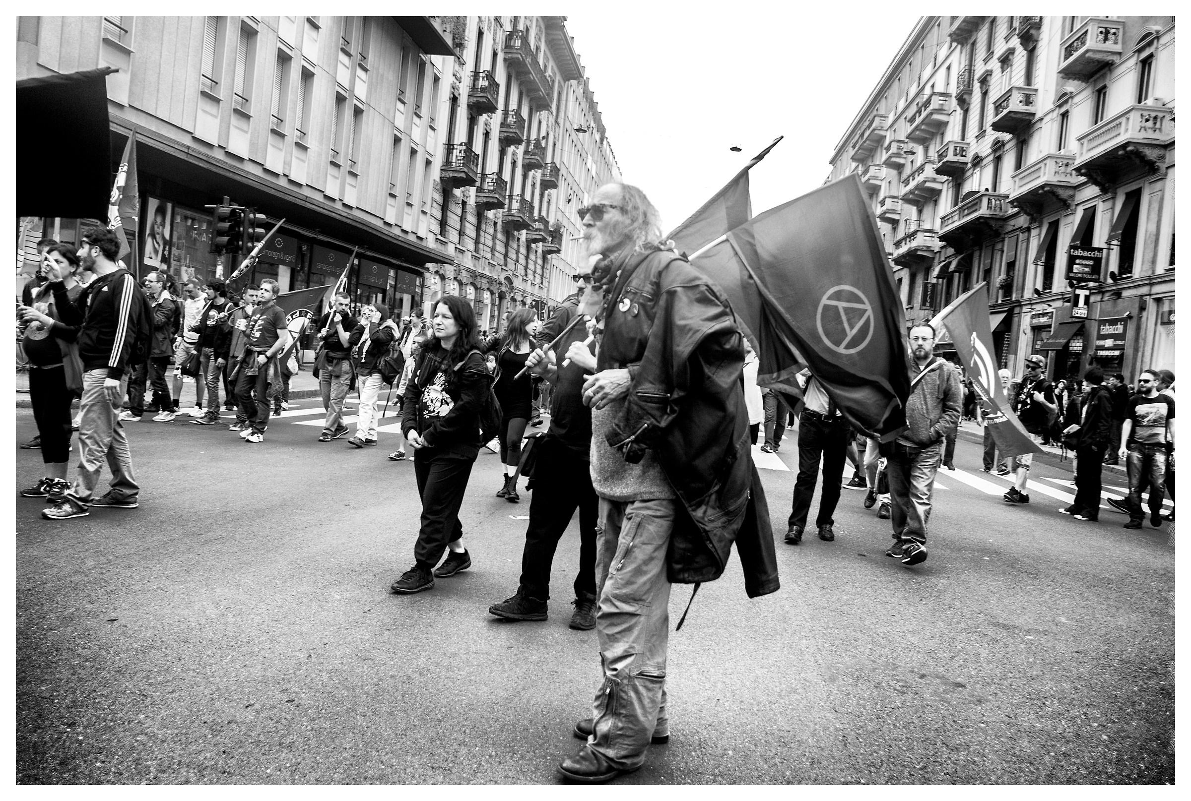1° Maggio, Milan. Anarchists....