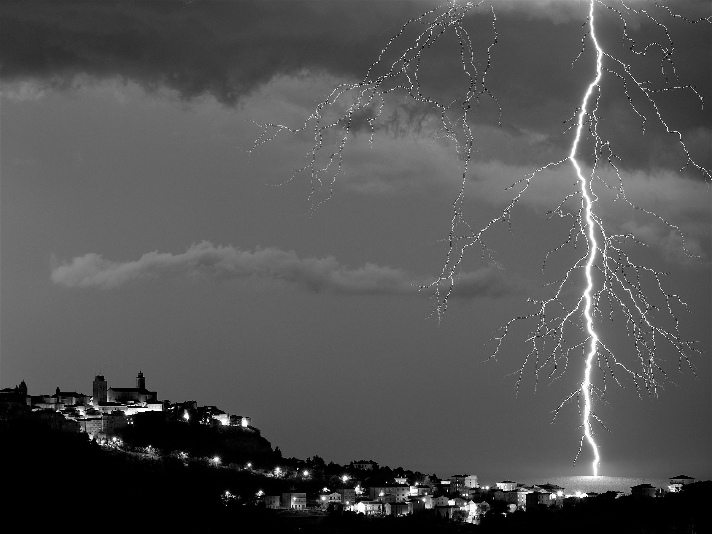 temporale in Adriatico...