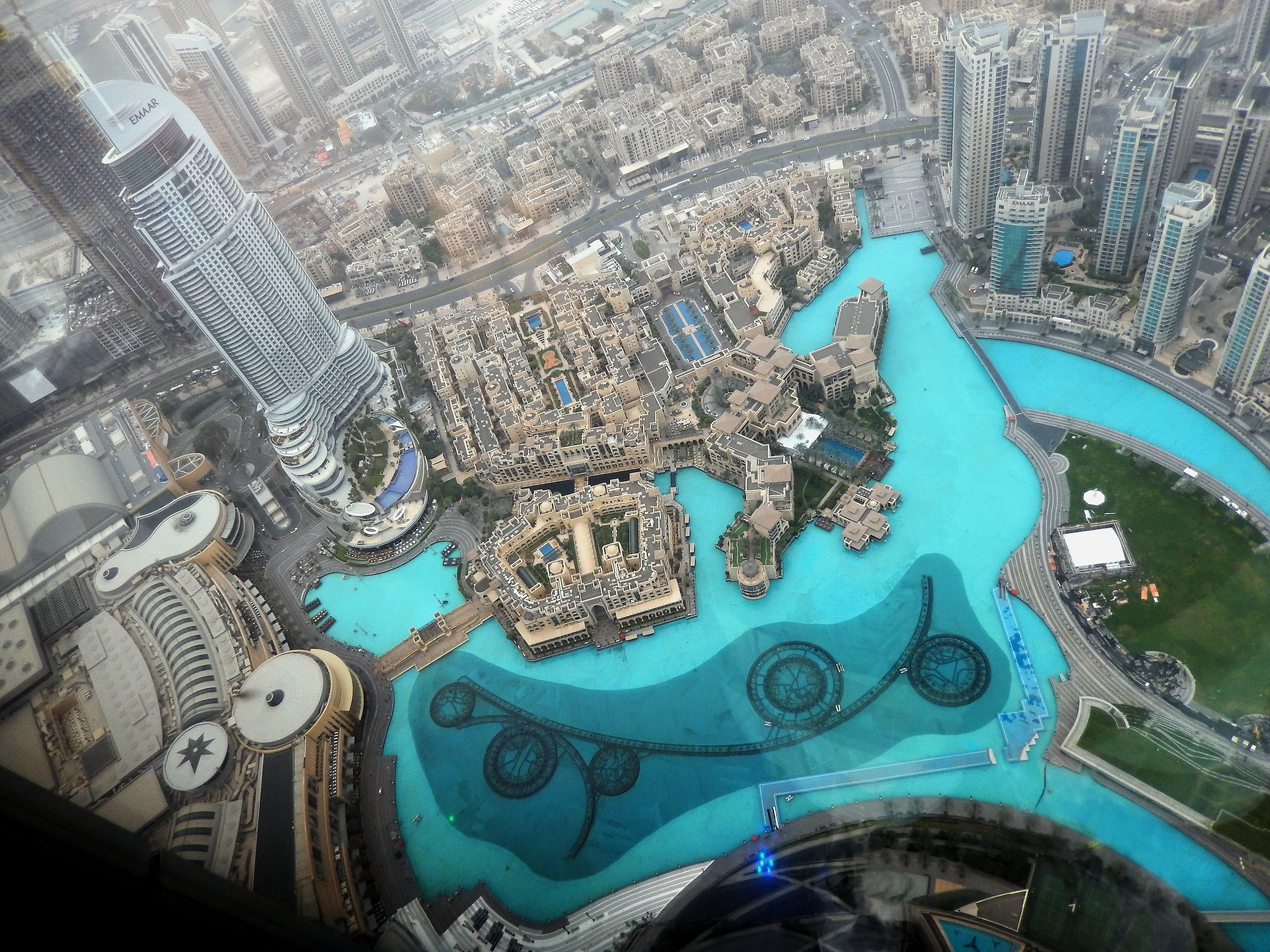 .. From the 125 ° floor... of the Burj Khalifa...