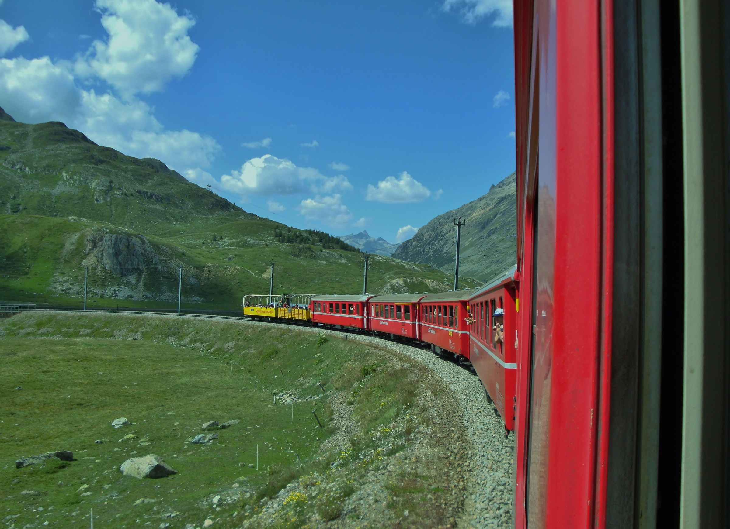 And goes on the Bernina...