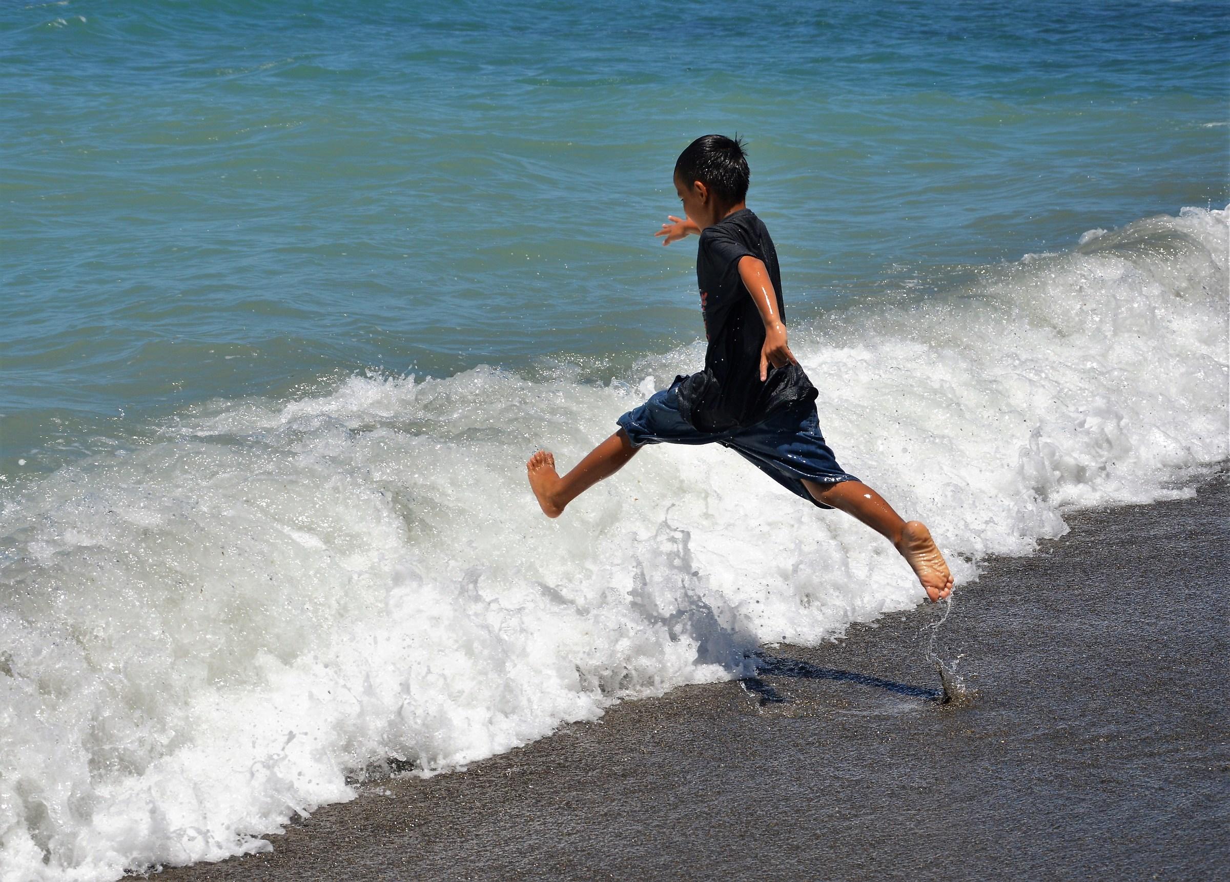 un salto sulle  onde...