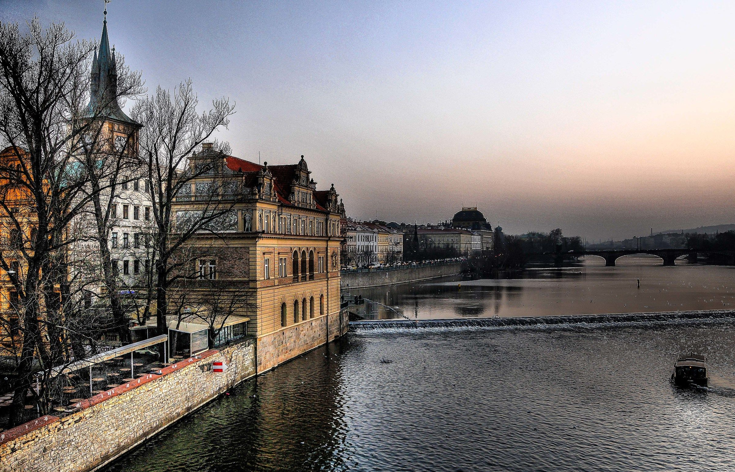 Vltava River...