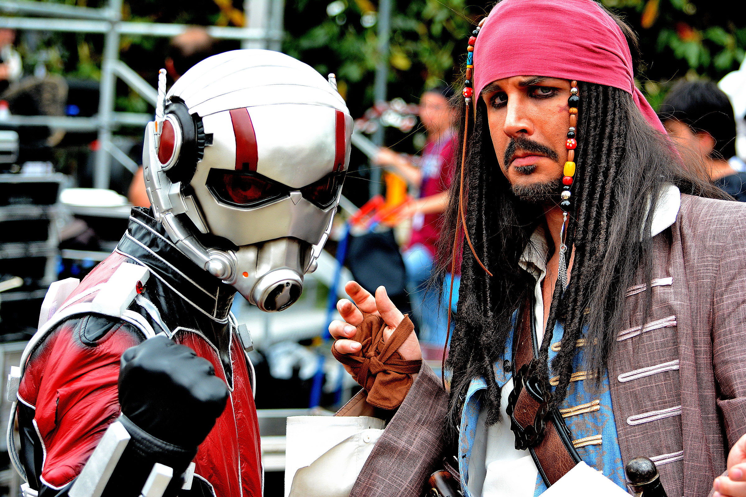 Sermide Comics & Games 2018: Ant-Man and Jack Sparrow....