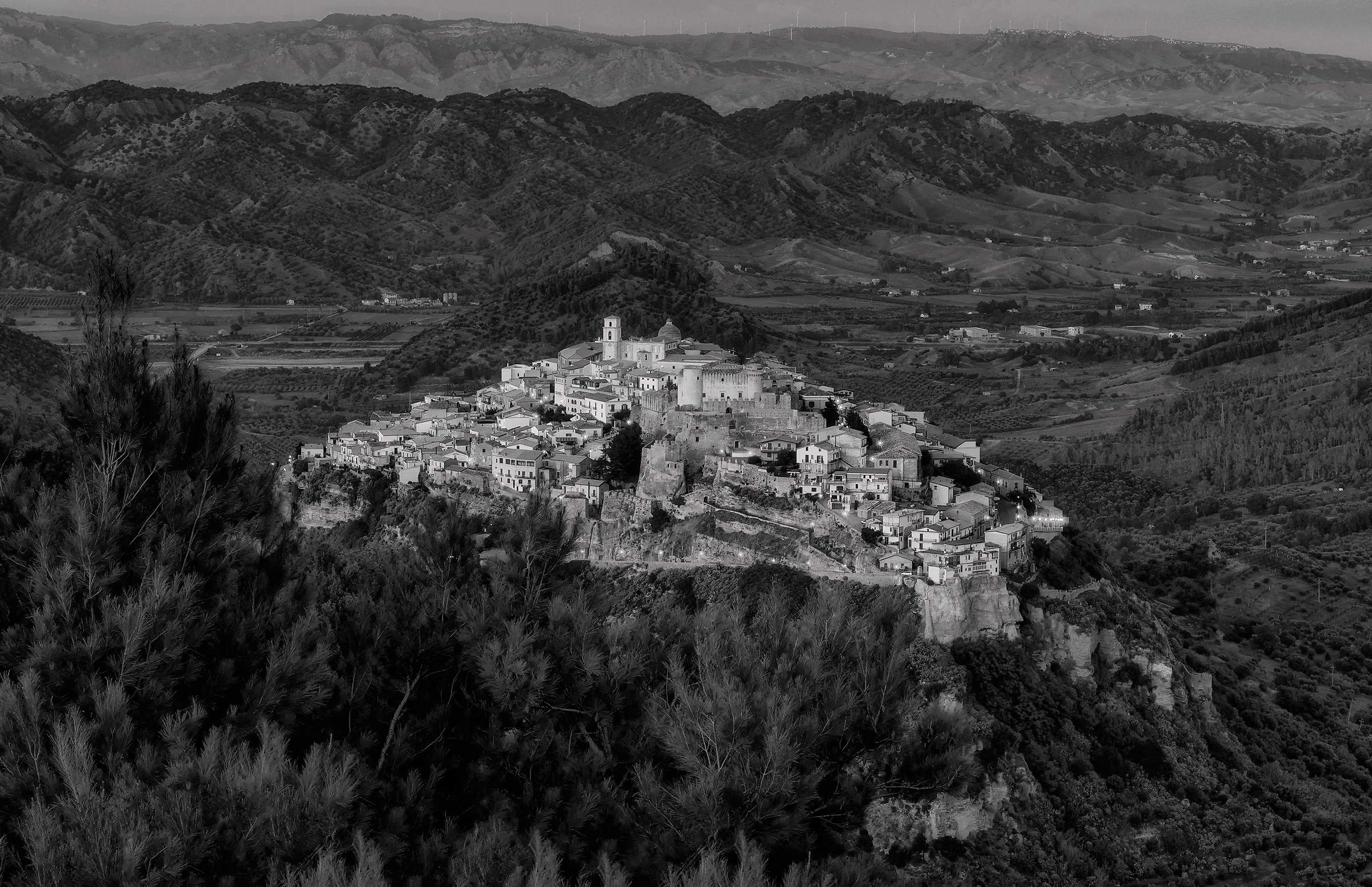 Santa Severina view from Monte Fuscaldo!...