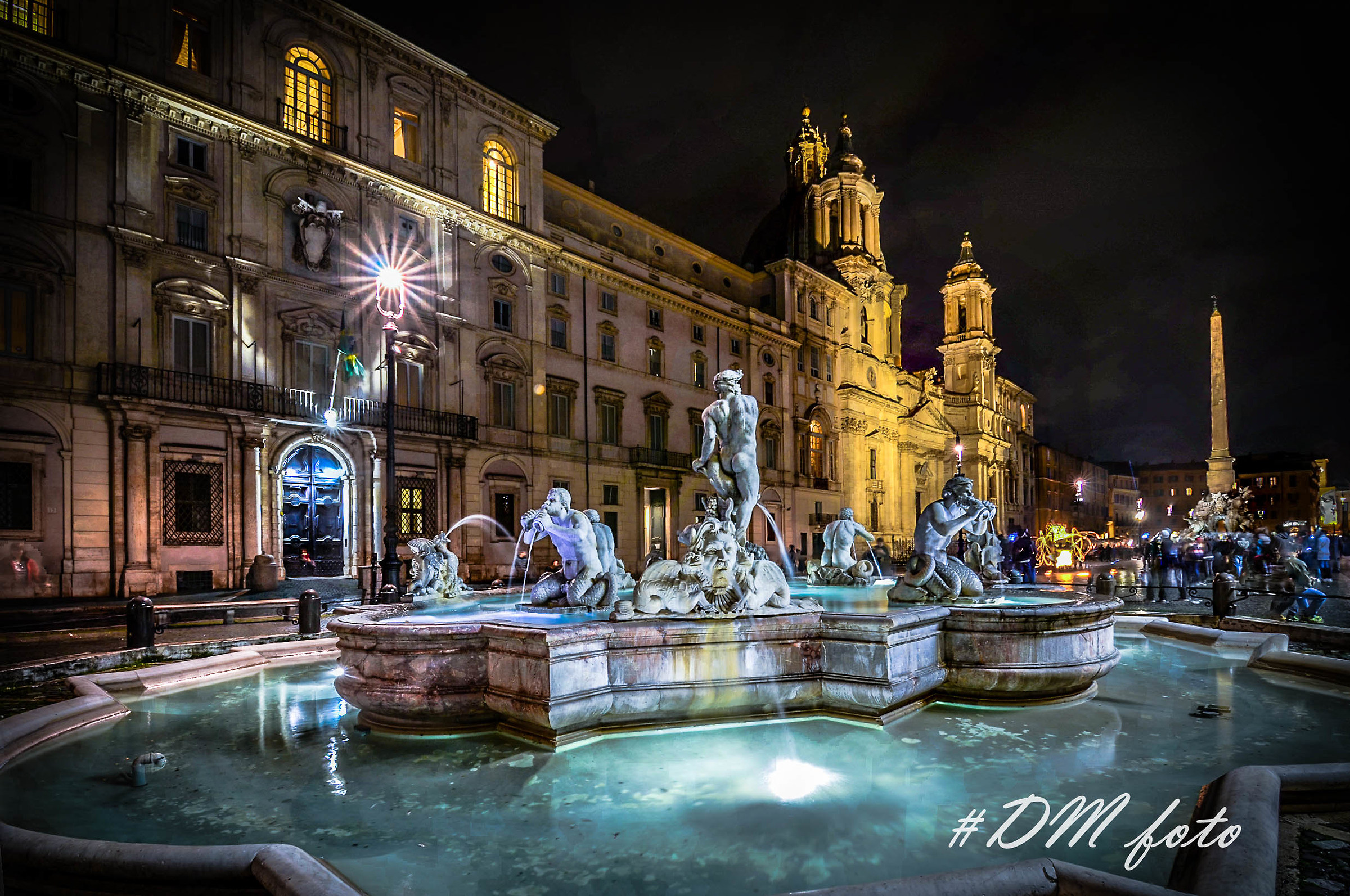 Bernini's Fountains (Piazza Navona)...