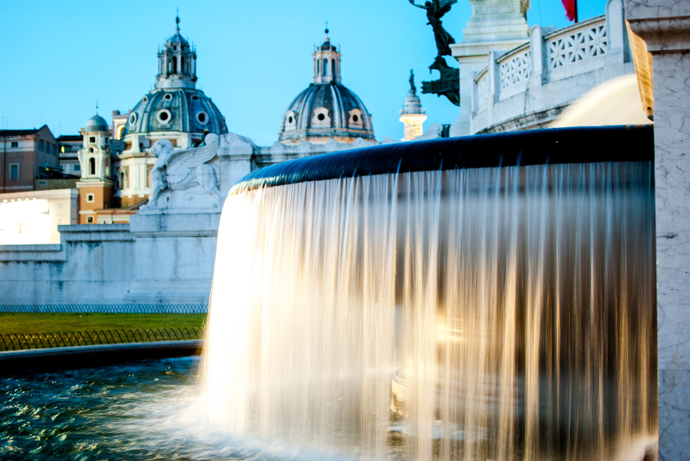 Rome fountains...