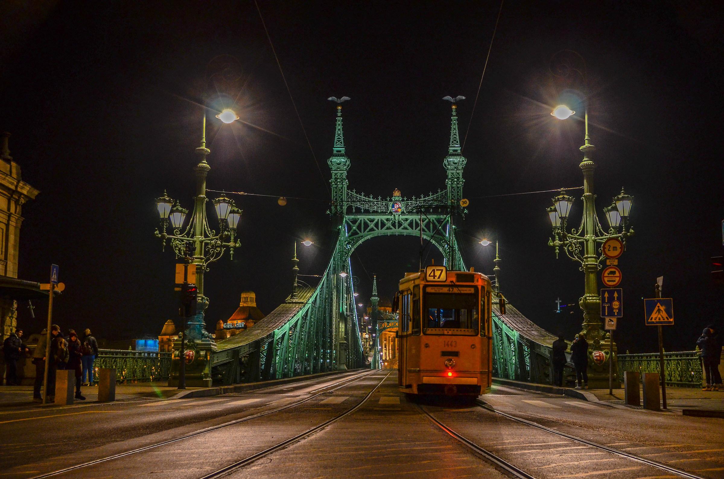 Liberty Bridge Budapest...