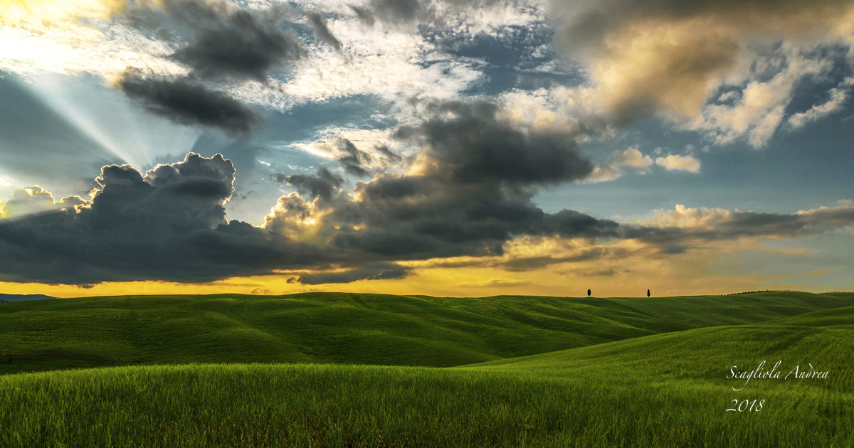 """Sunset D """"Orcia..."""