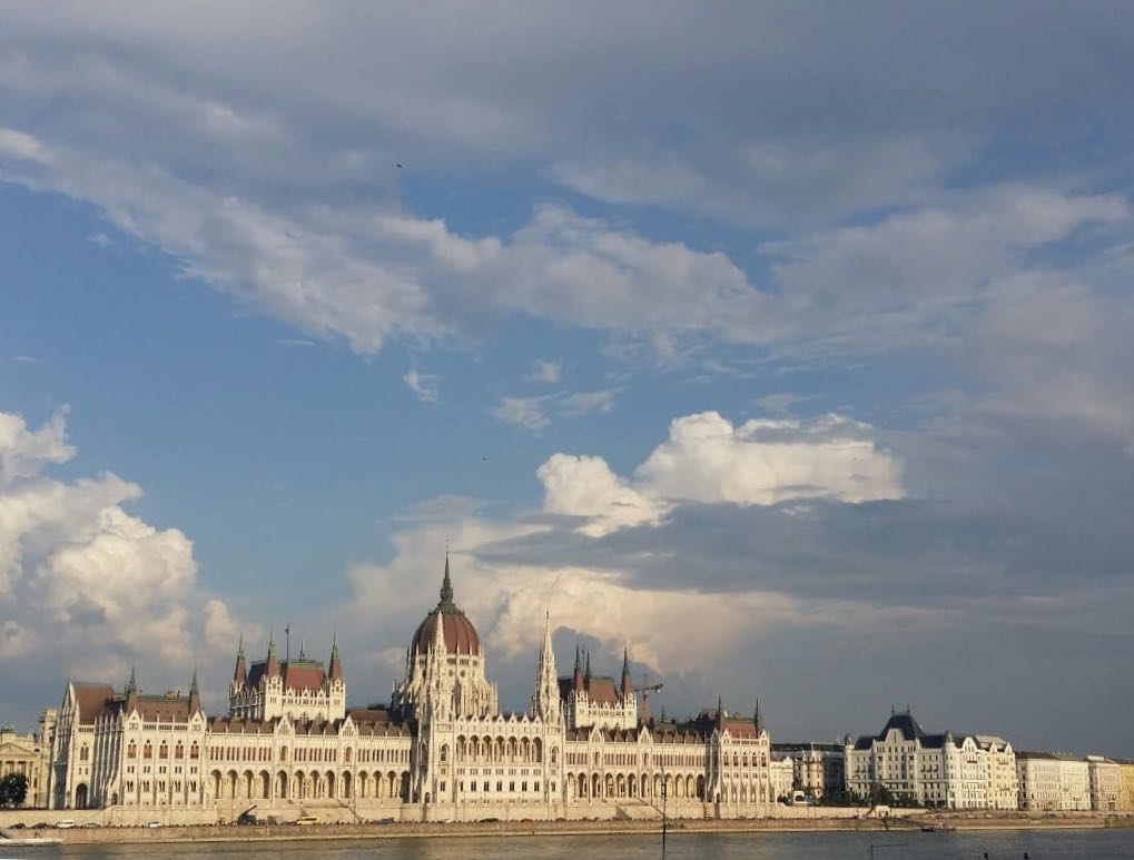 Greetings from Budapest...
