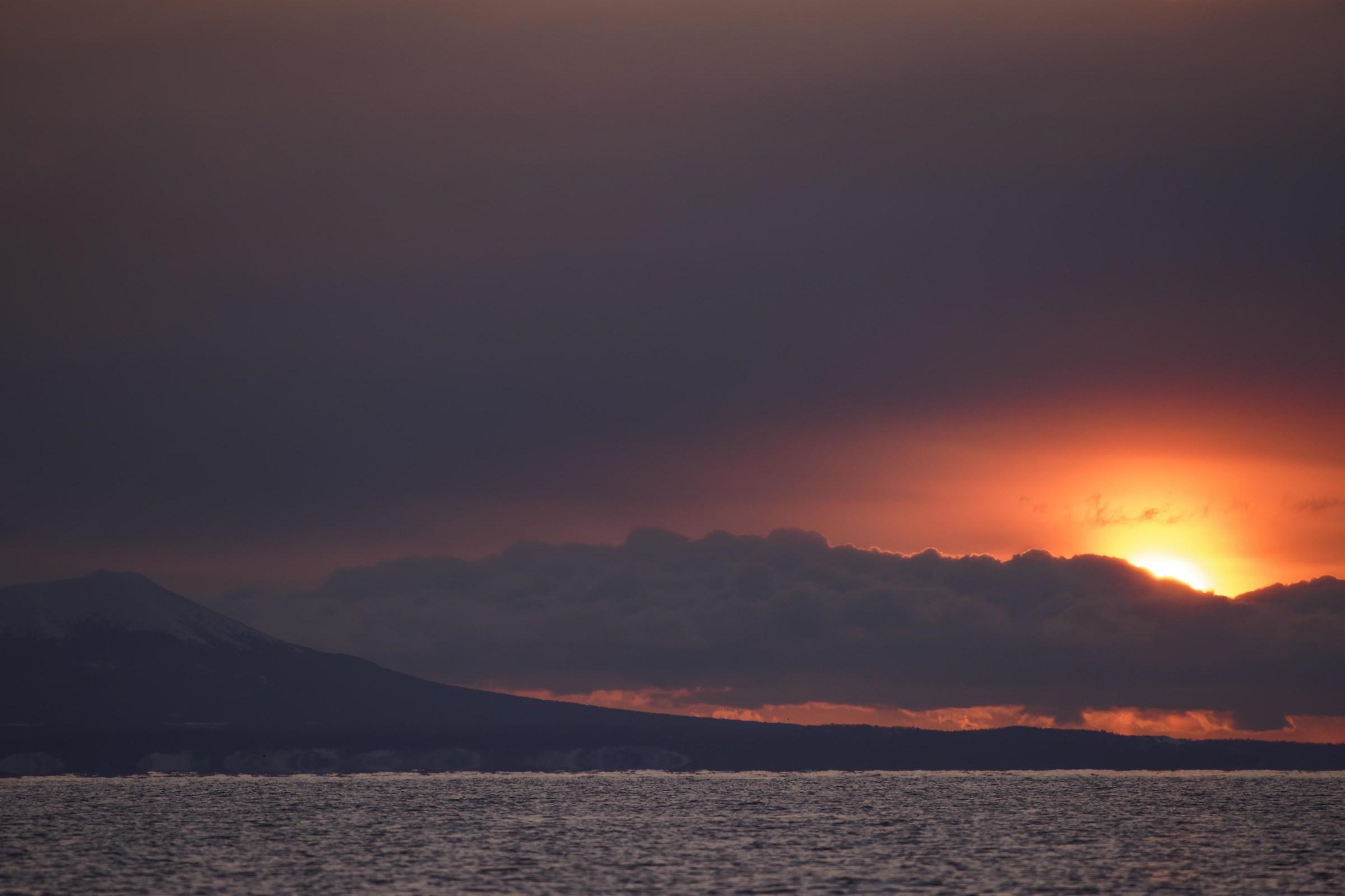 Sunrise at Hokkaydo...