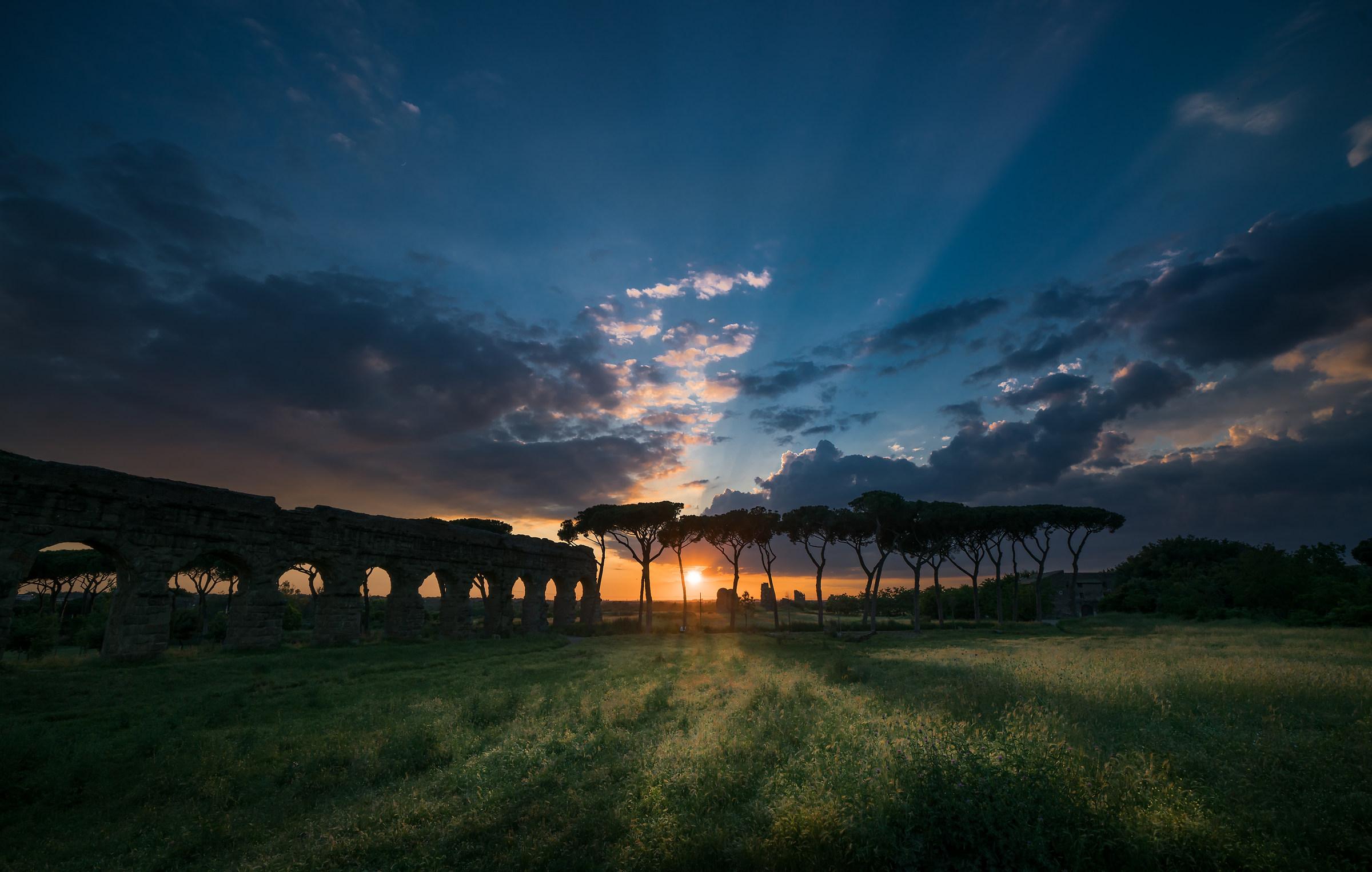 Aqueducts Park again...