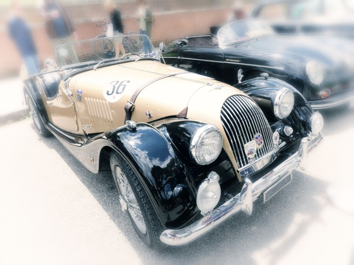 Vintage cars-shapes of the past ...