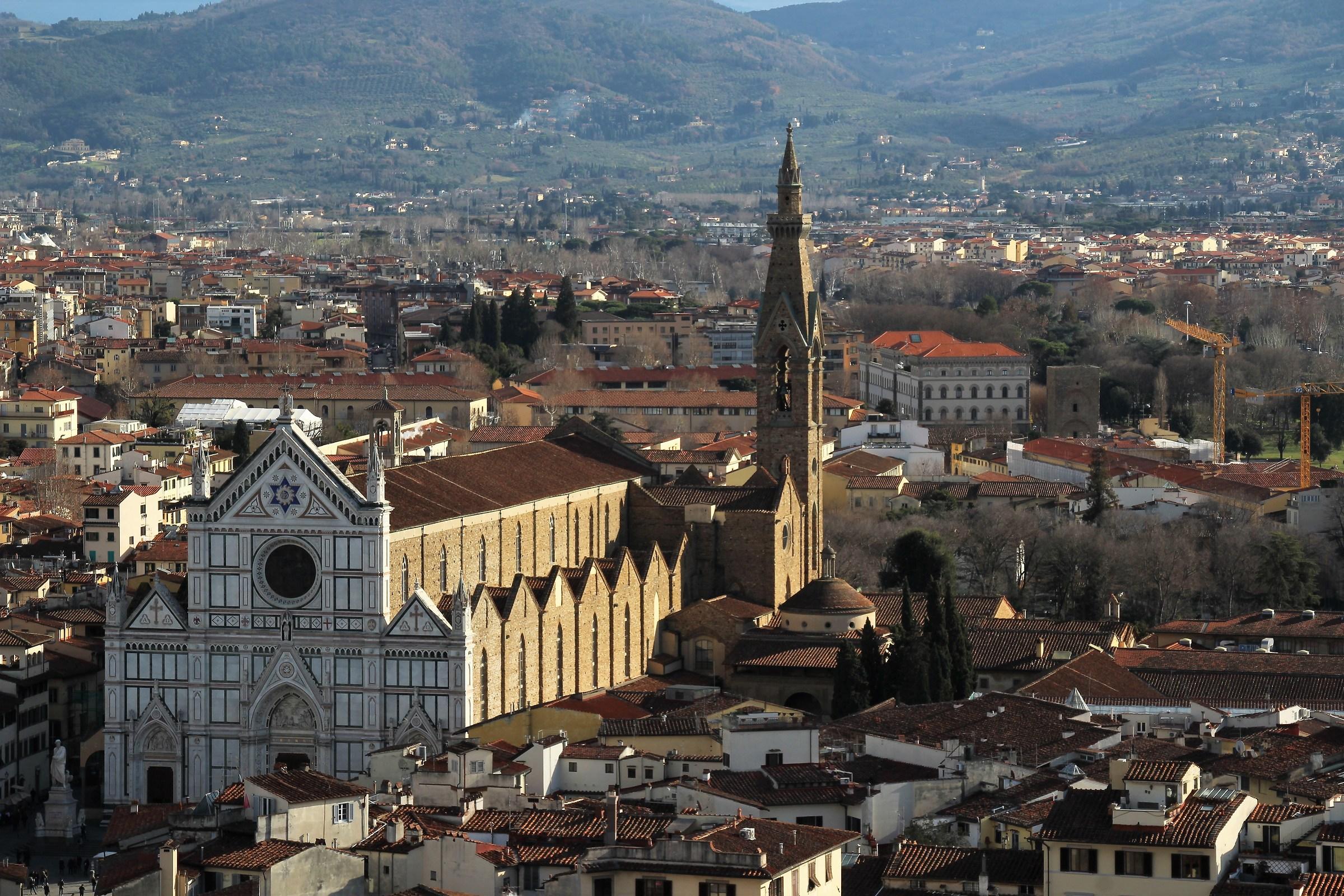 Firenze - Chiesa di Santa Croce...