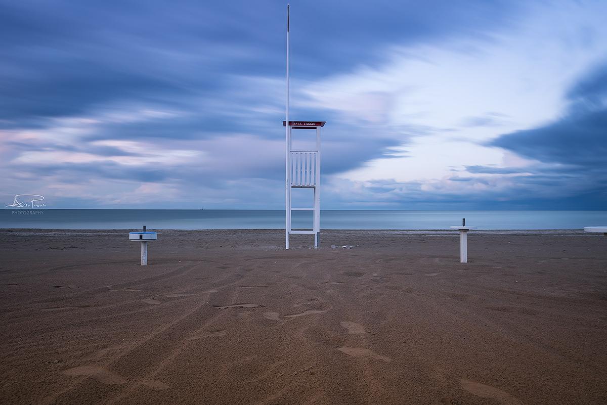 Beach of Rimini...