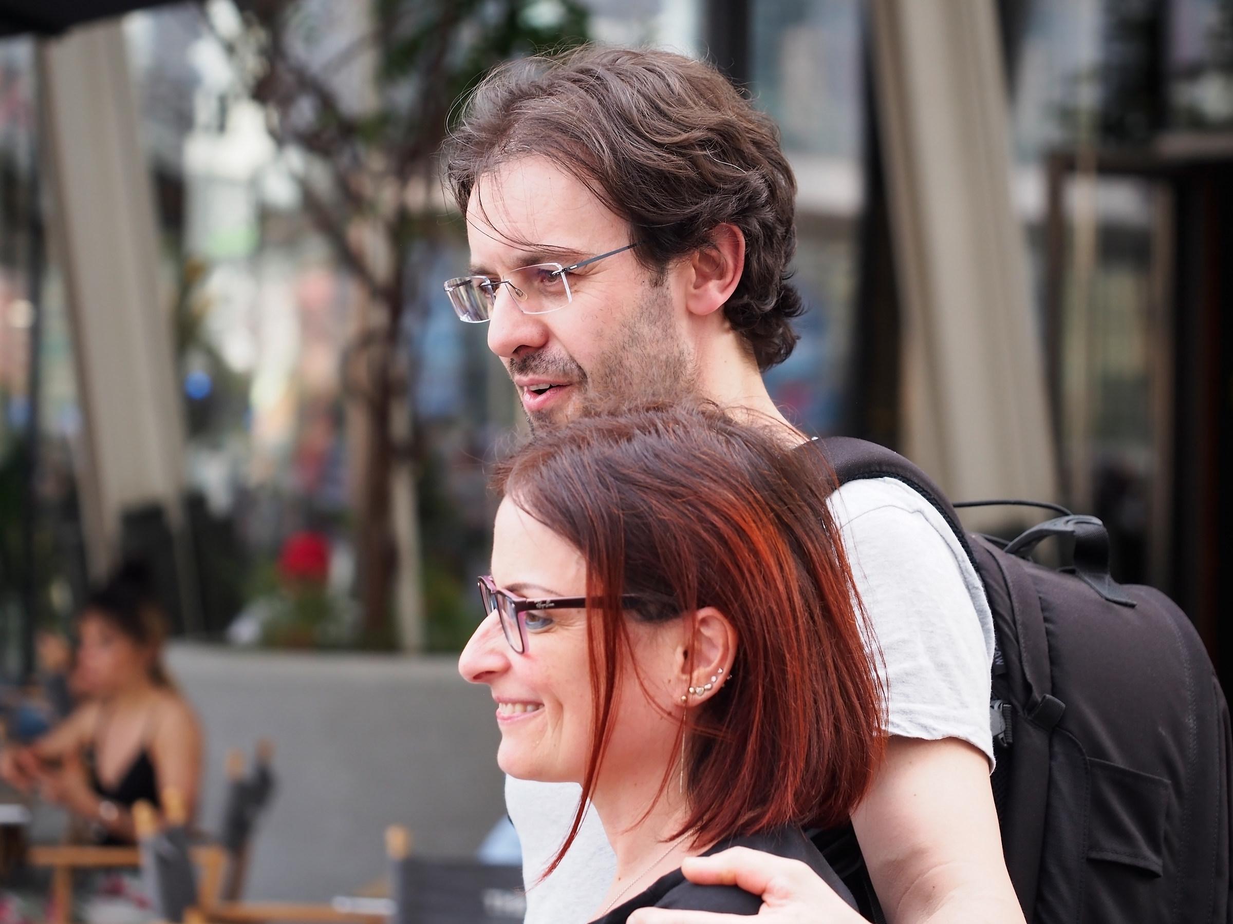 Zini Juri e sua moglie...
