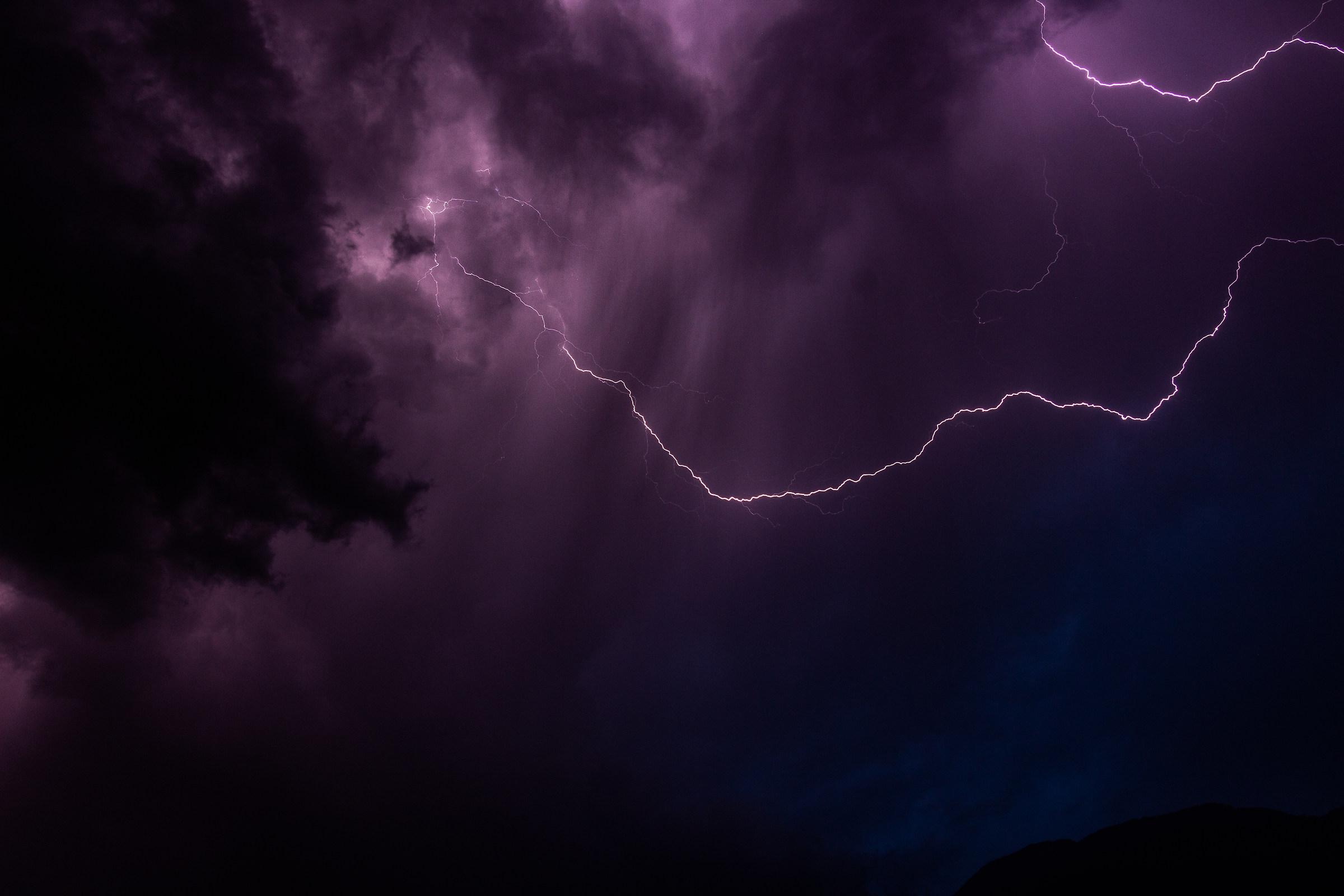 My first Lightning...