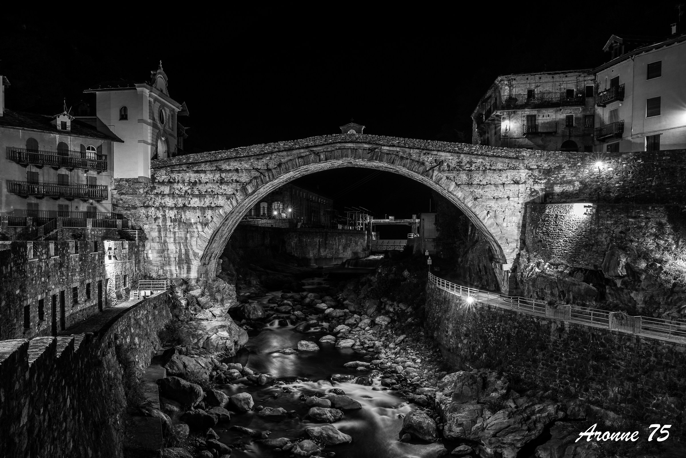 Ponte romano di Pont Saint-Martin...