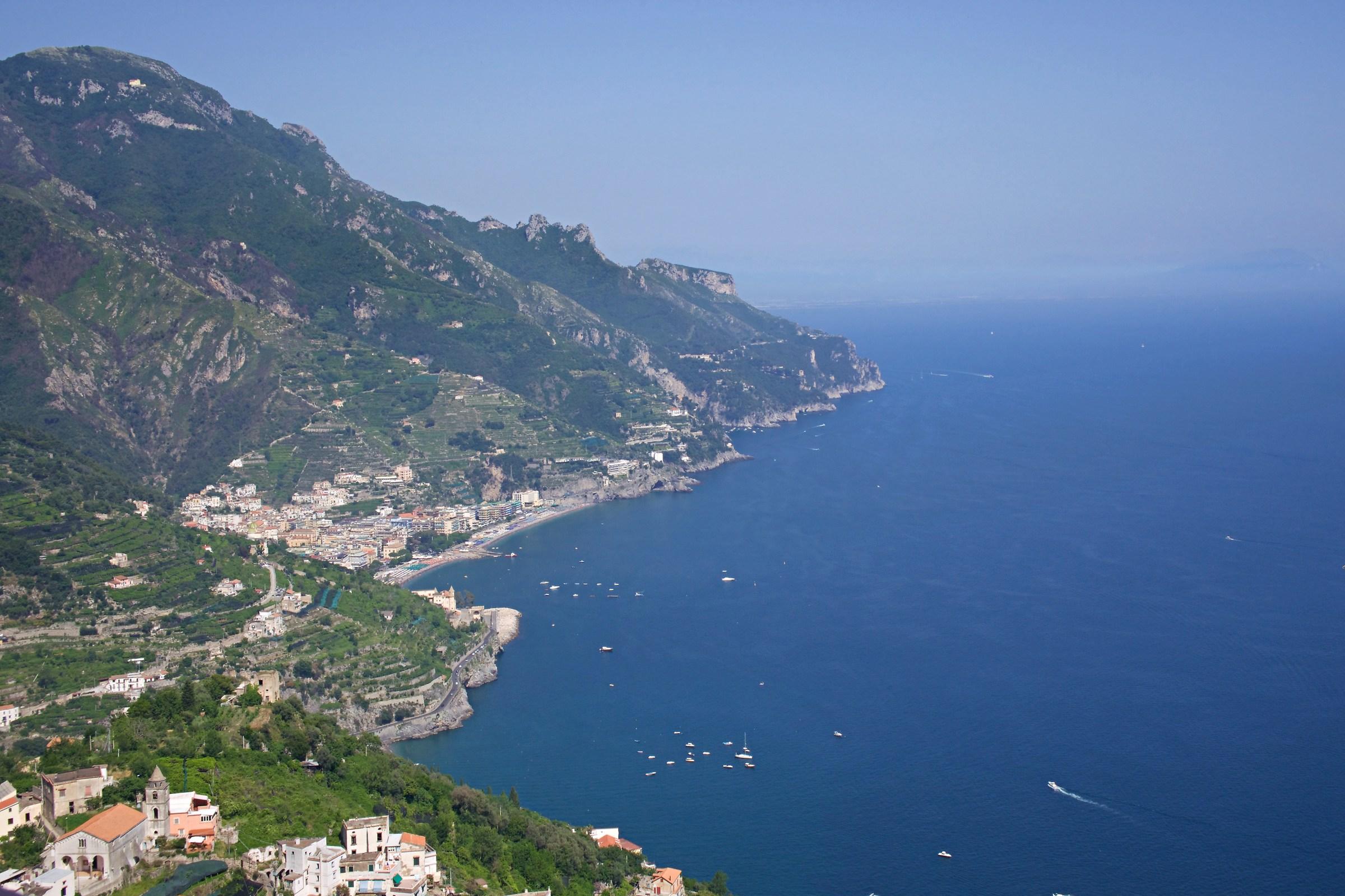 Panorama from Ravello...