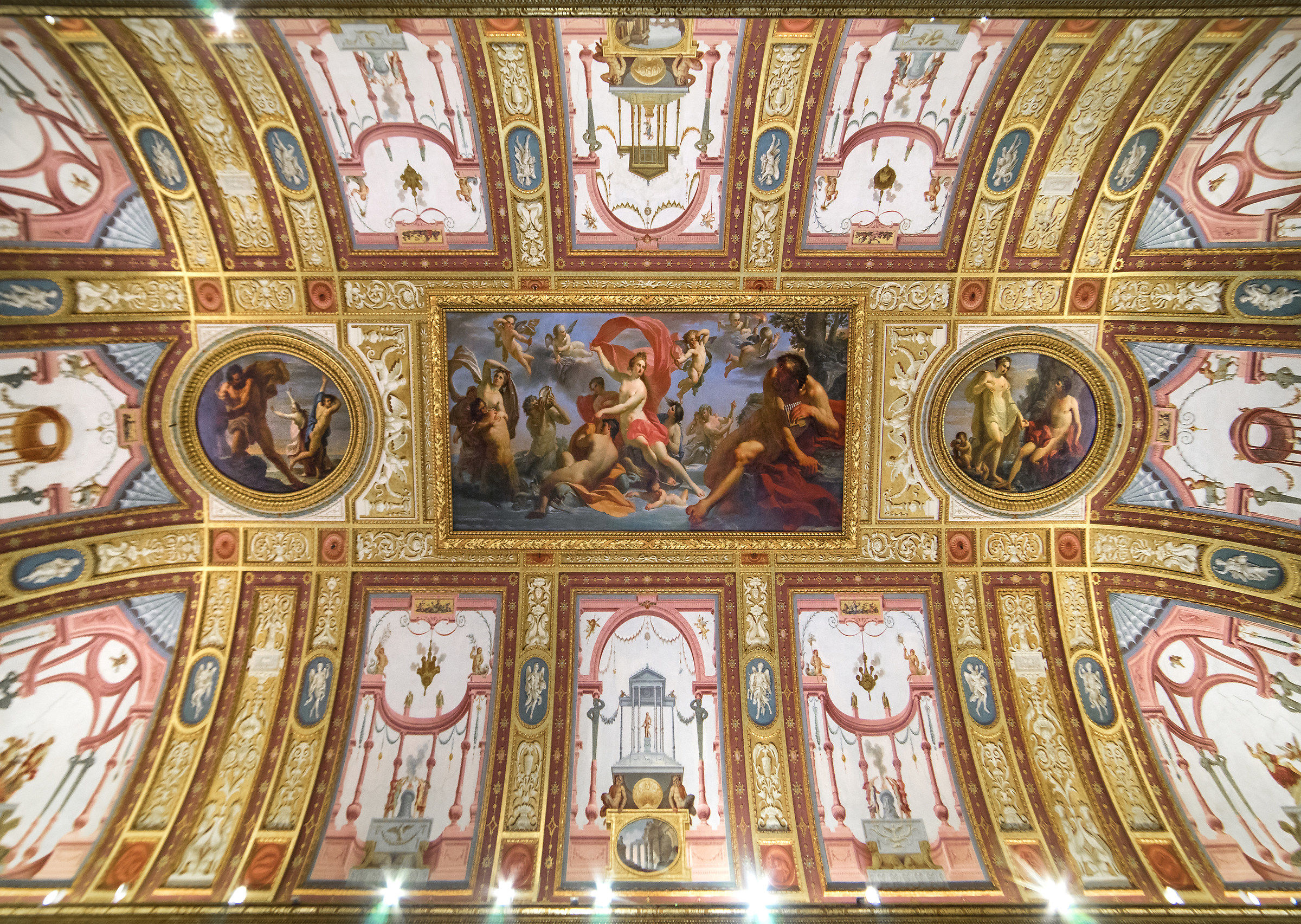 Ceiling of the Hall of Emperors...