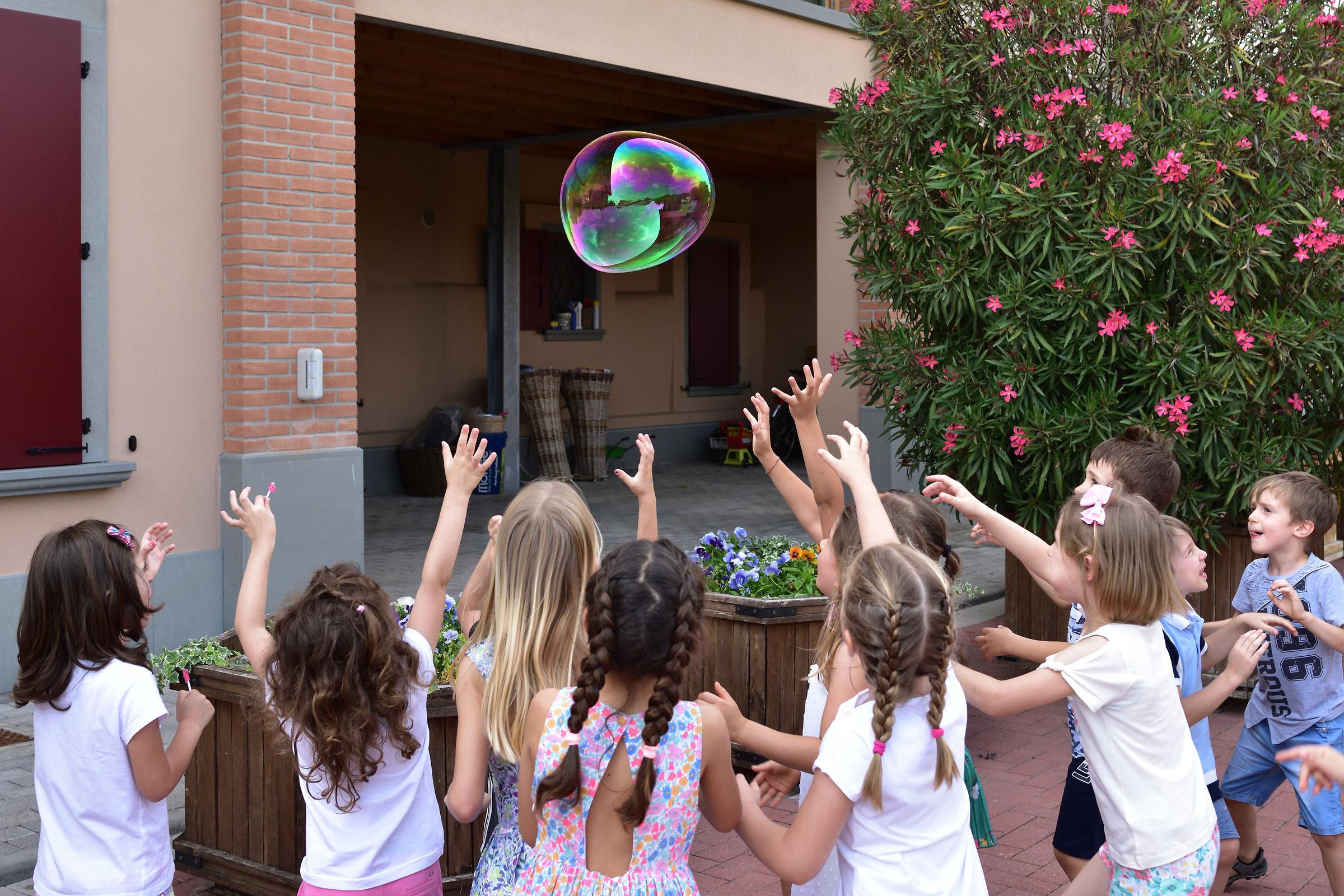The bubble....