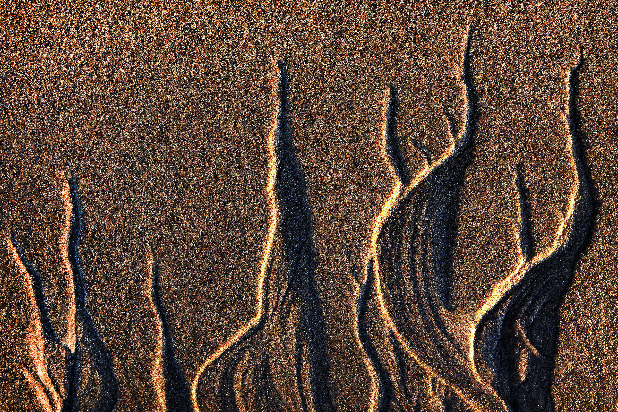Sand shapes...