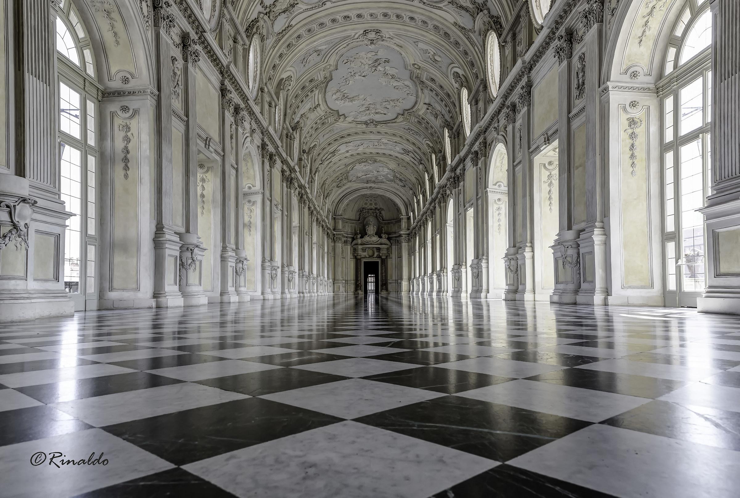 The Grand Gallery of the Reggia di Venaria Reale...