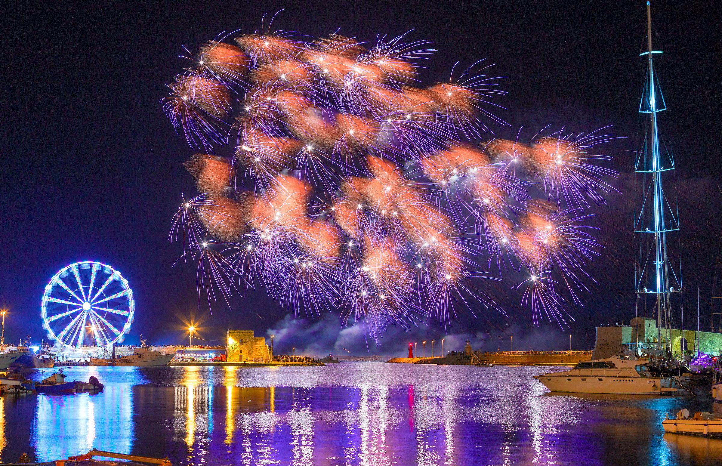 Trani 2018 Fireworks 3...