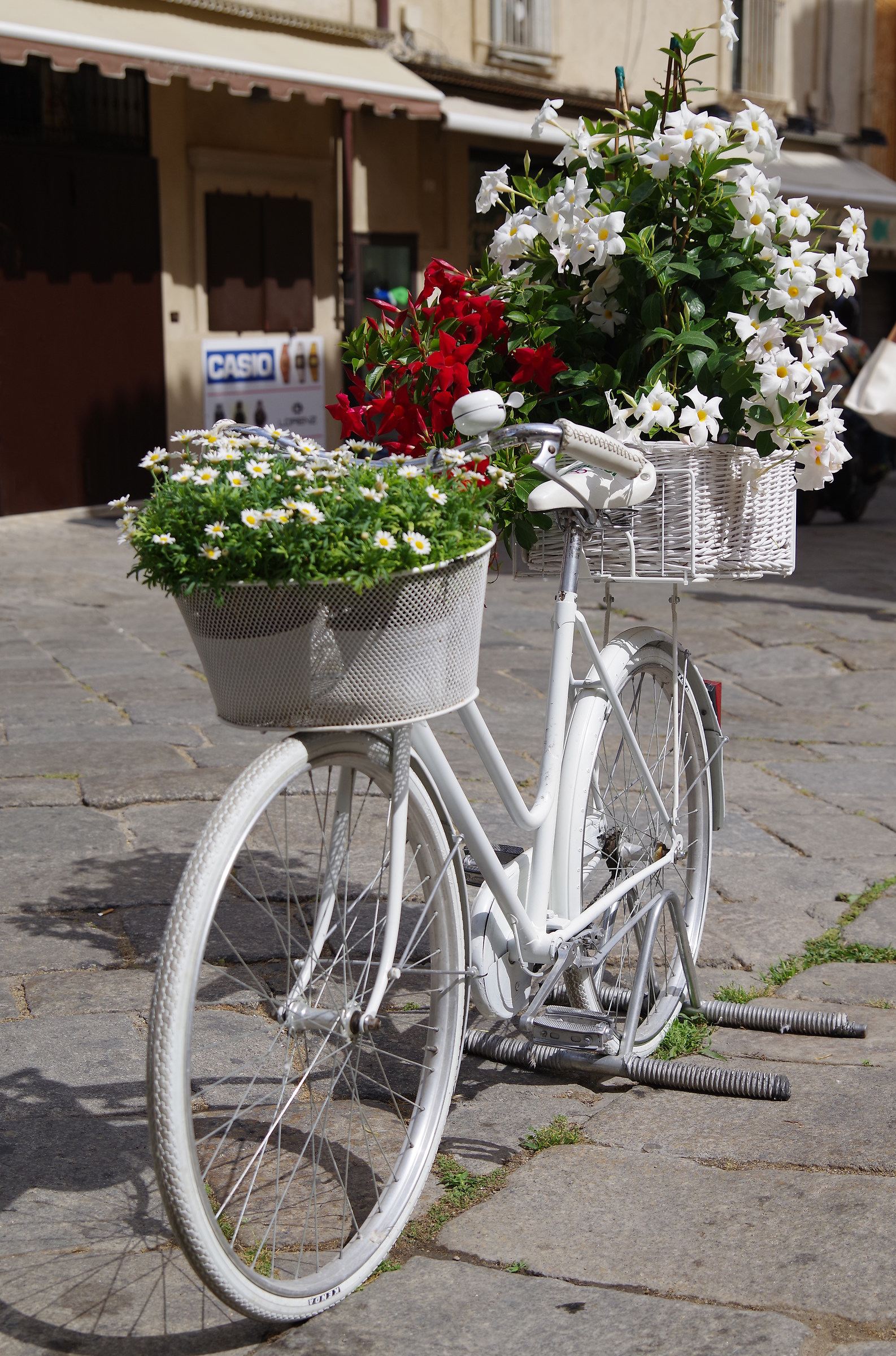 The flower bike...