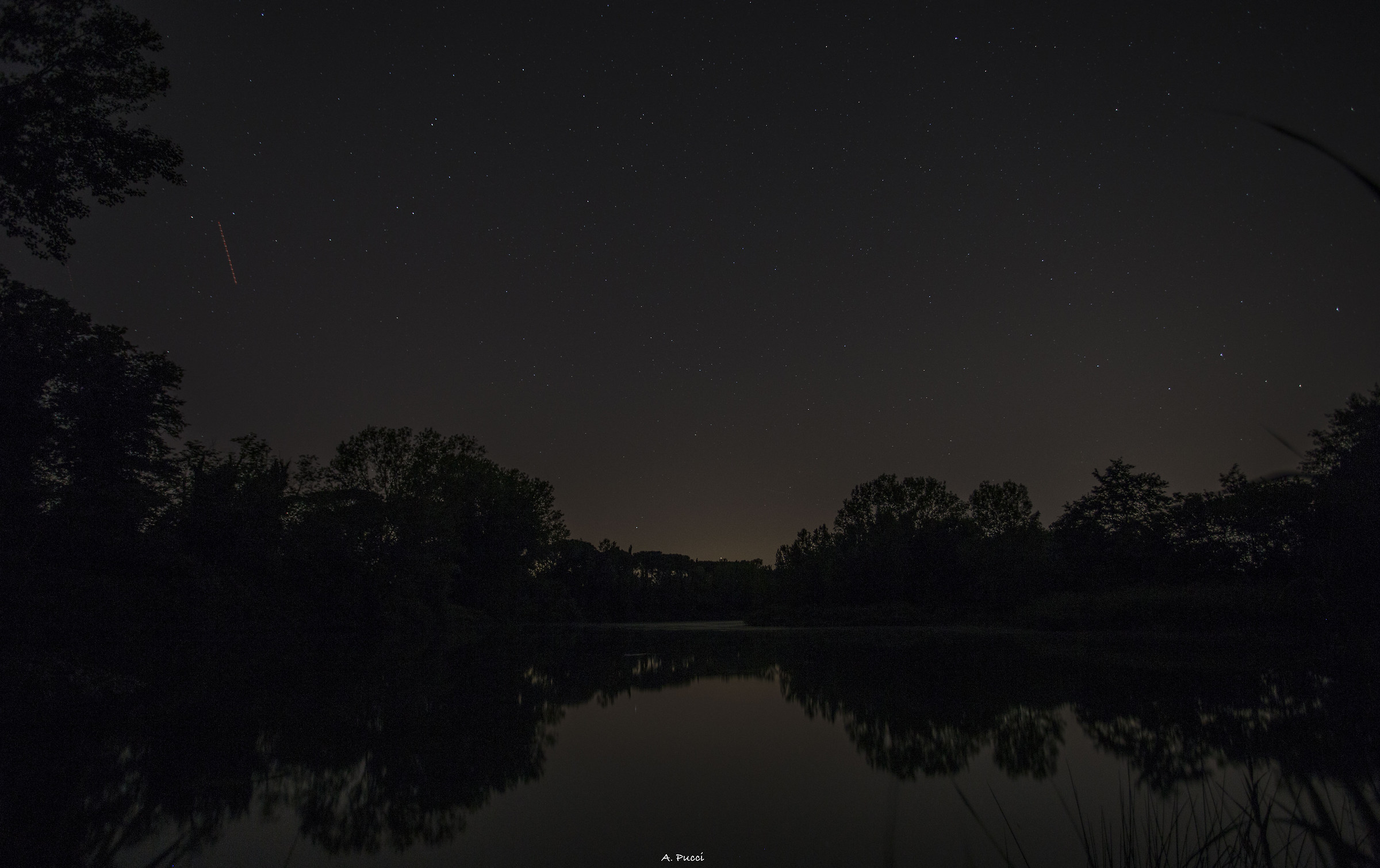 Night Pond...