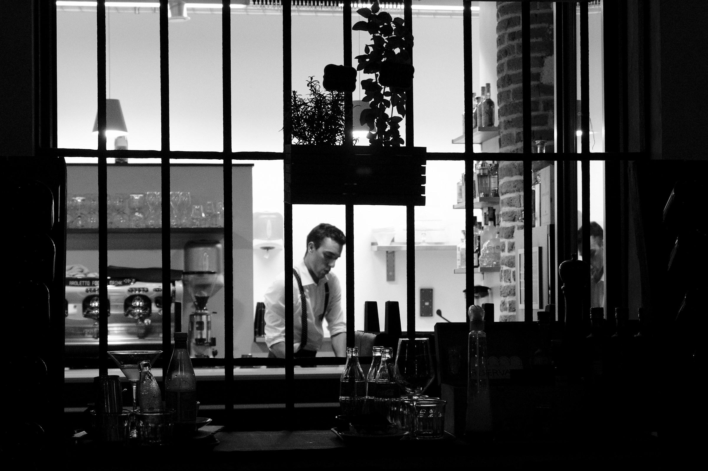 The Bartender...