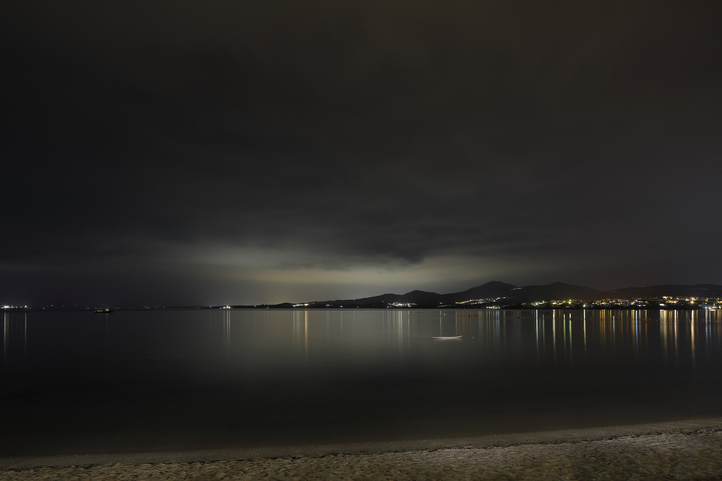 Lights and shadows on the Gulf of Olbia...