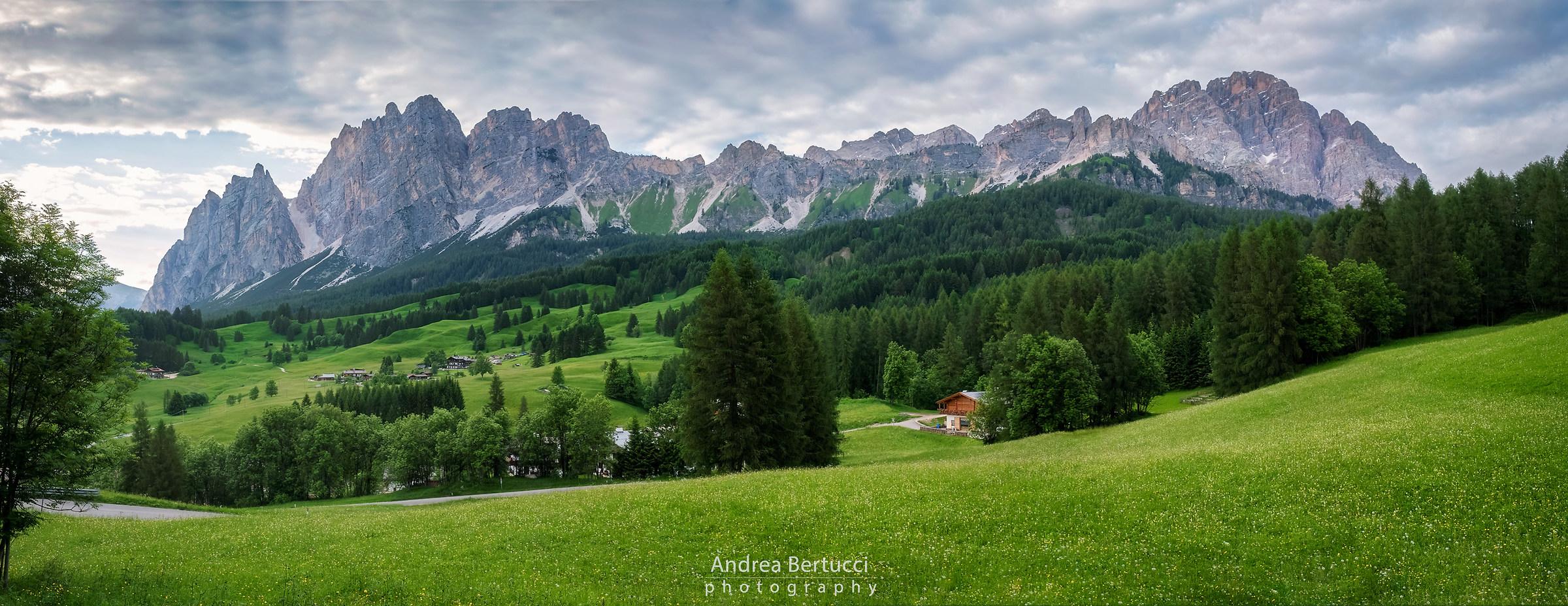 La vallata di Cortina...