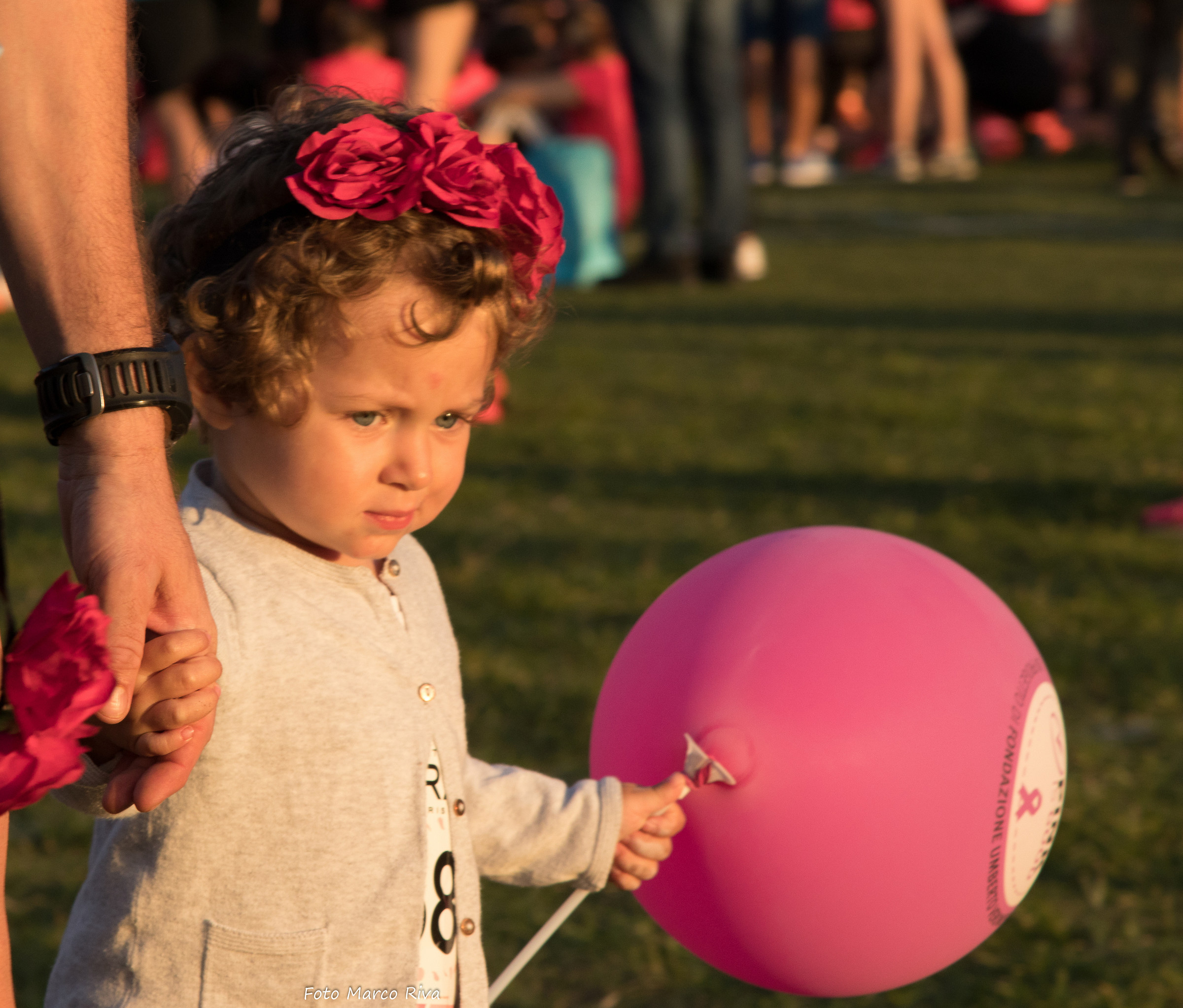 Little girl with Balloon...