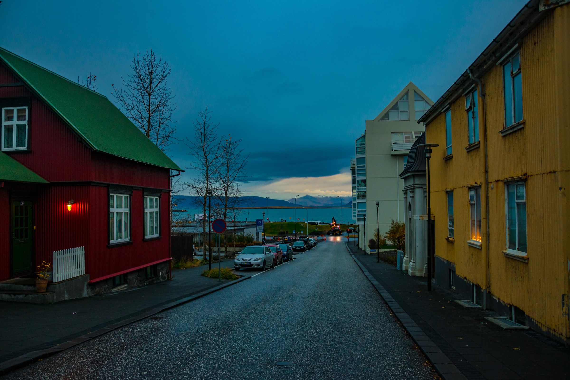 On the streets of Reykjavik...