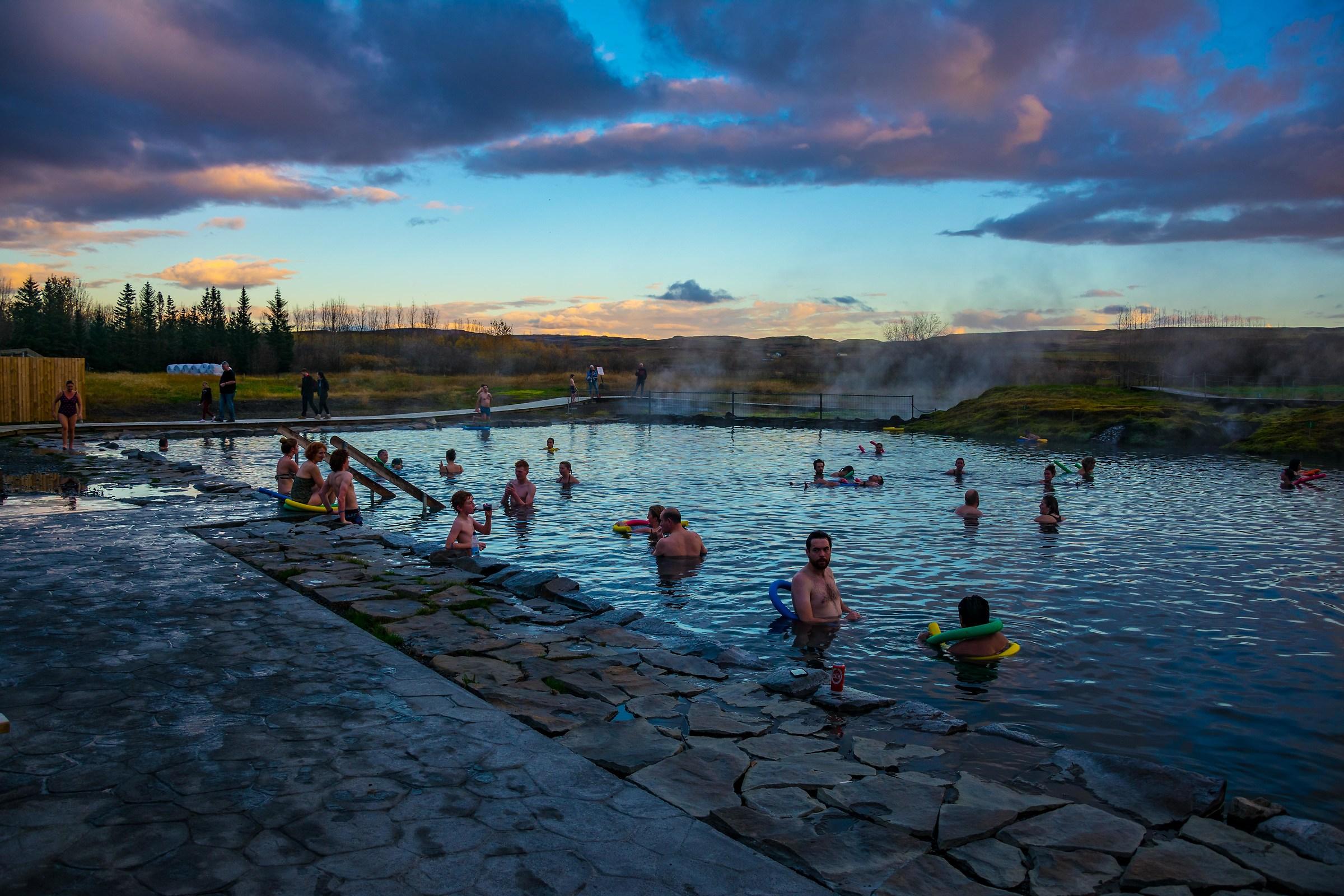 Icelandic spas...