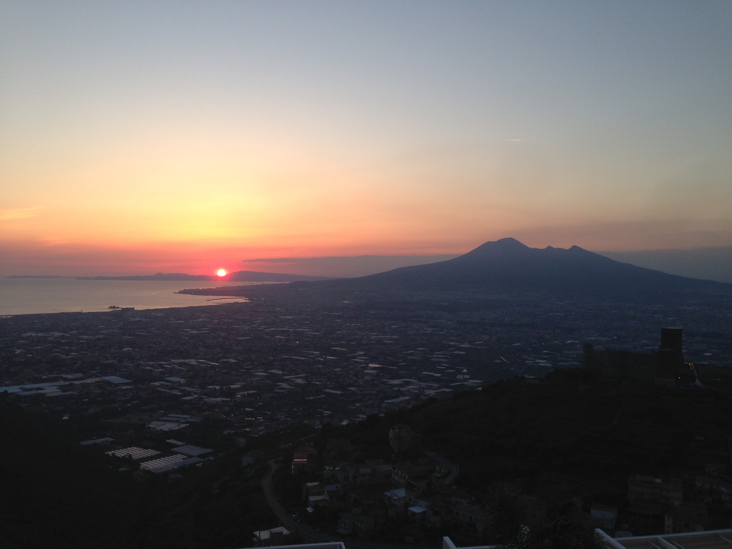 Neapolitan sunset...